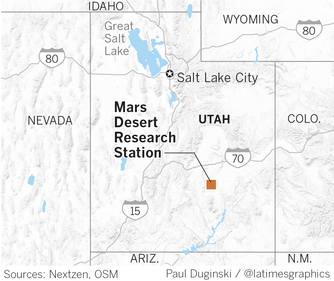 Mars Desert Station in Utah
