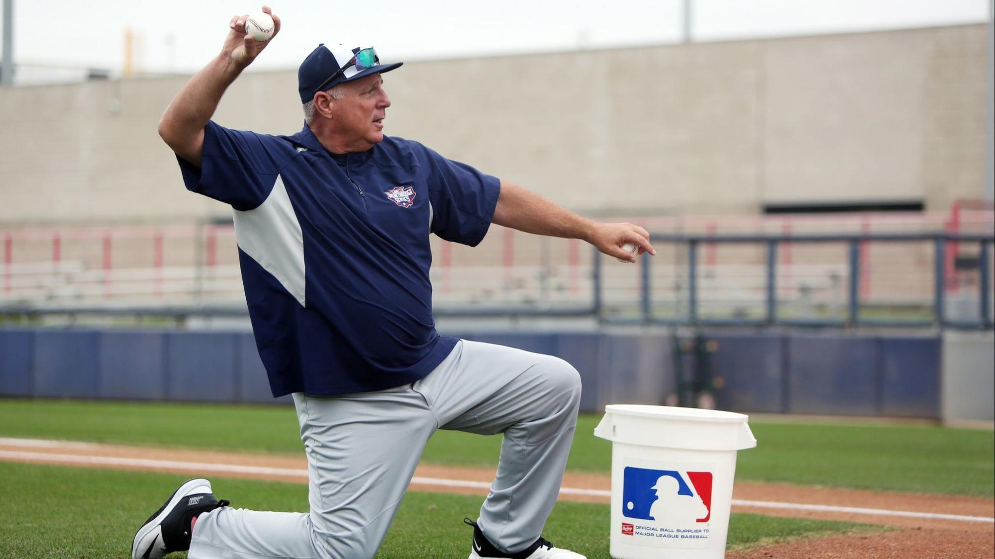 Even in retirement, Mike Scioscia is still all about the players and the game