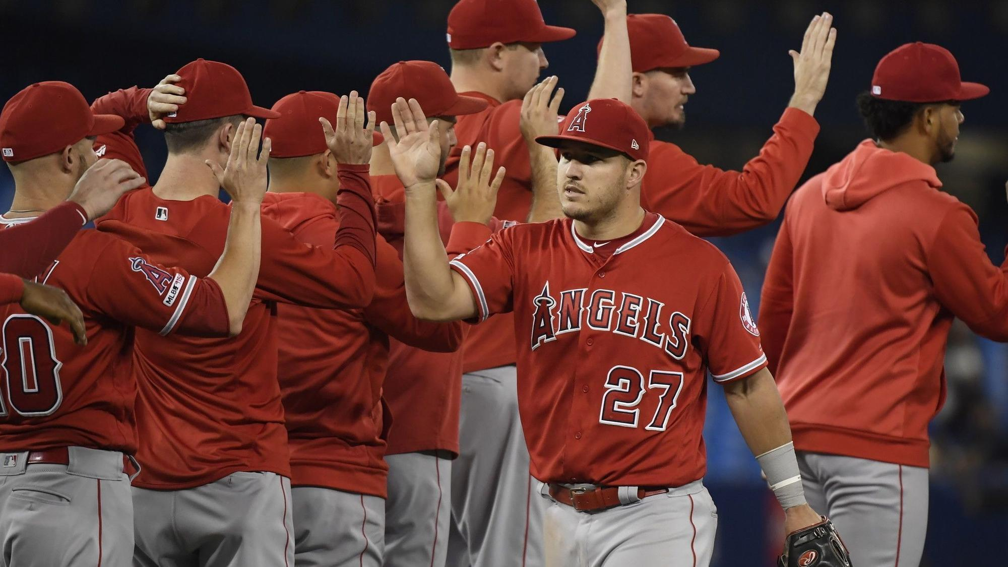 Angels' Mike Trout is named AL player of the week
