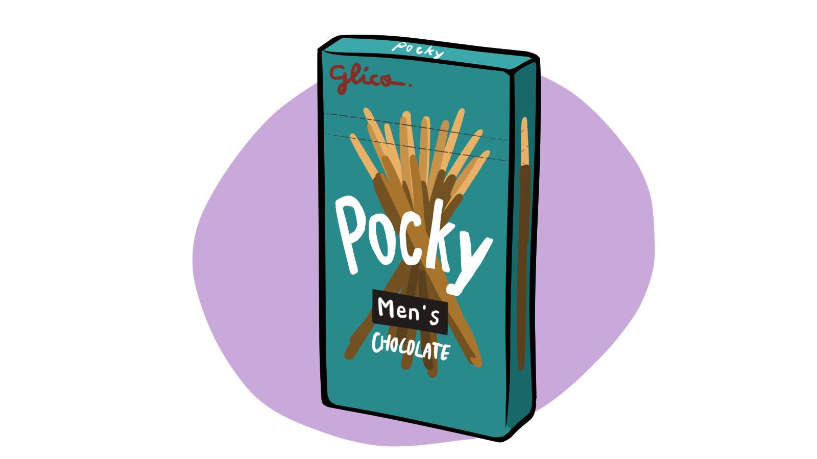 Pocky, for men