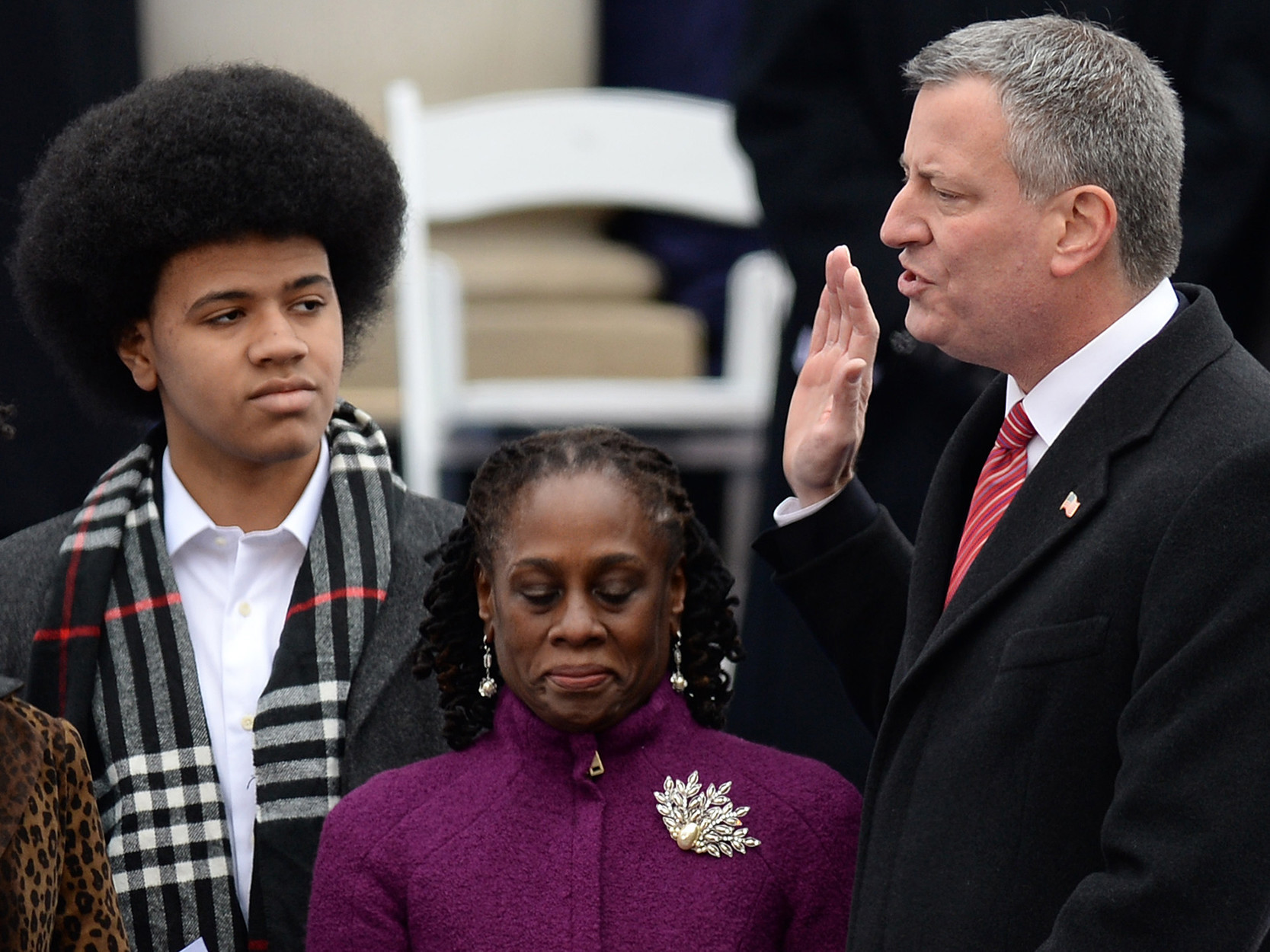 Mayor de Blasio's son, Dante, writes about his fear of police and the talk he had with his dad