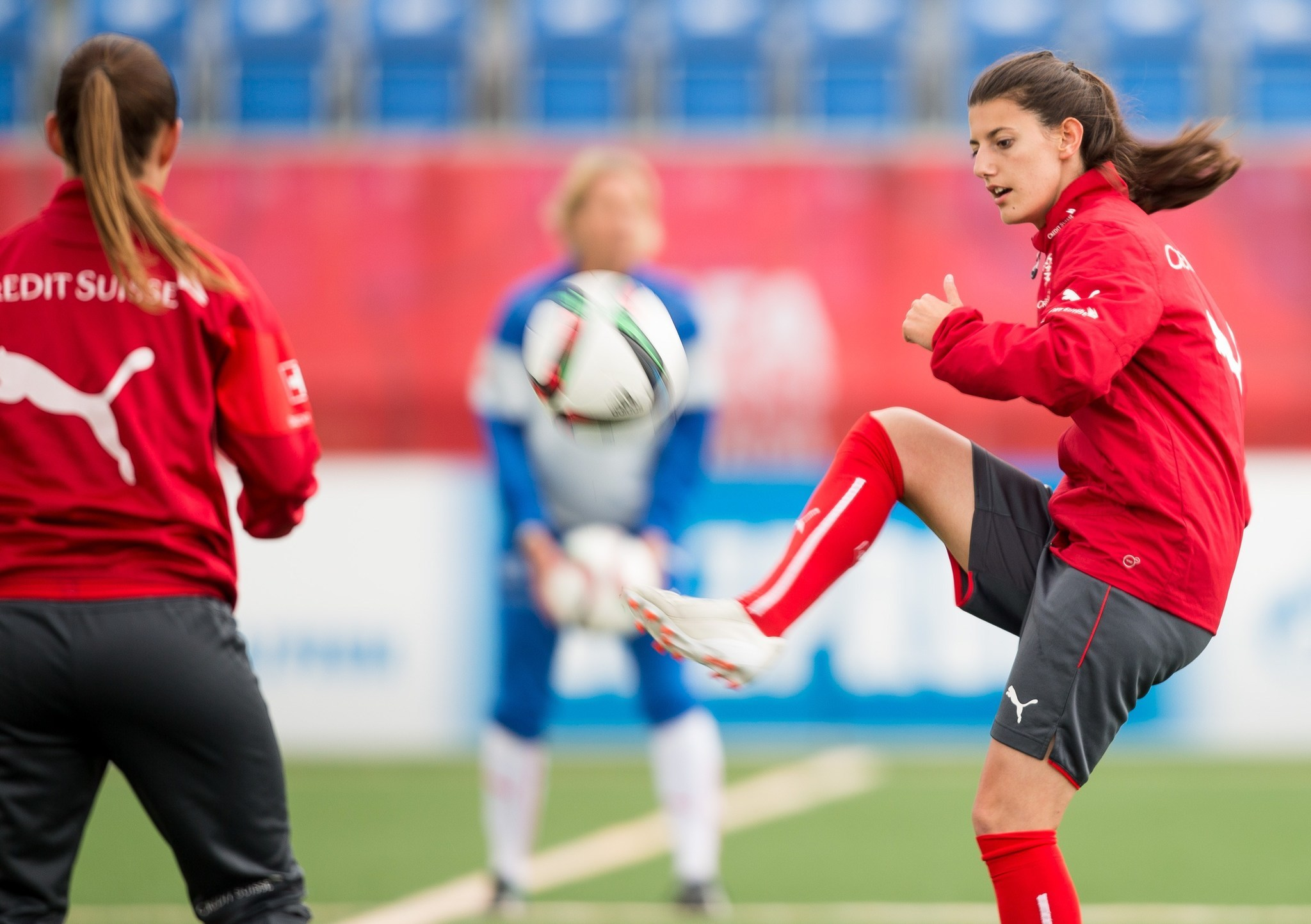Swiss soccer star Florijana Ismaili confirmed dead after swimming accident in Italy