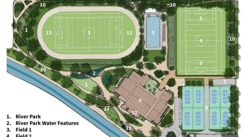 Harvard-Westlake releases first draft for new athletic facilities on 16-acre site in Studio City