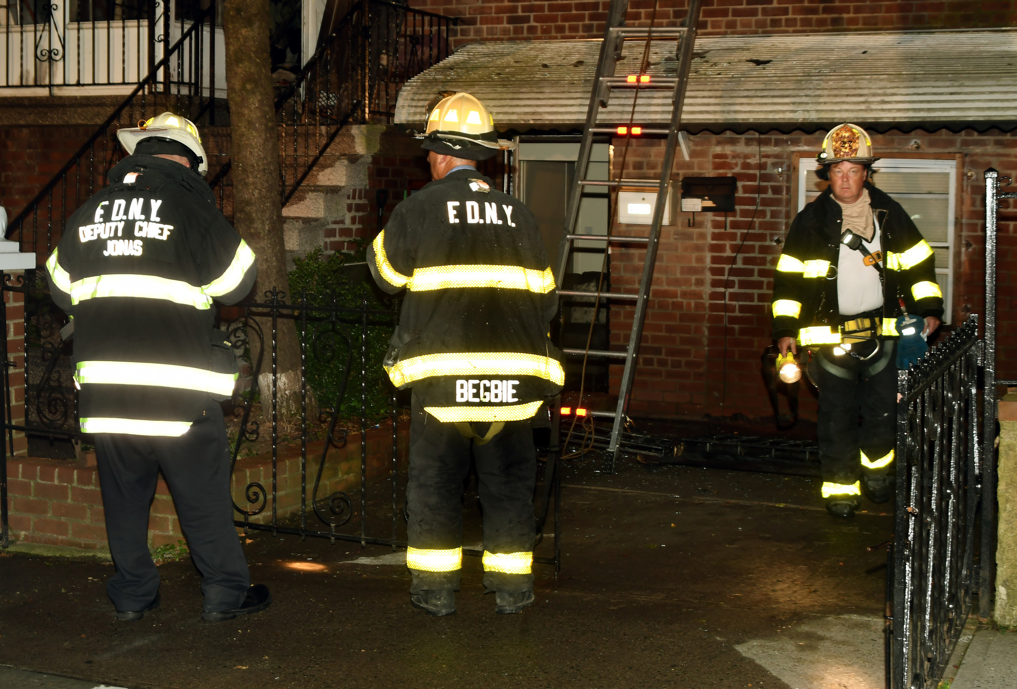 Two people suffer severe burns in raging Bronx blaze