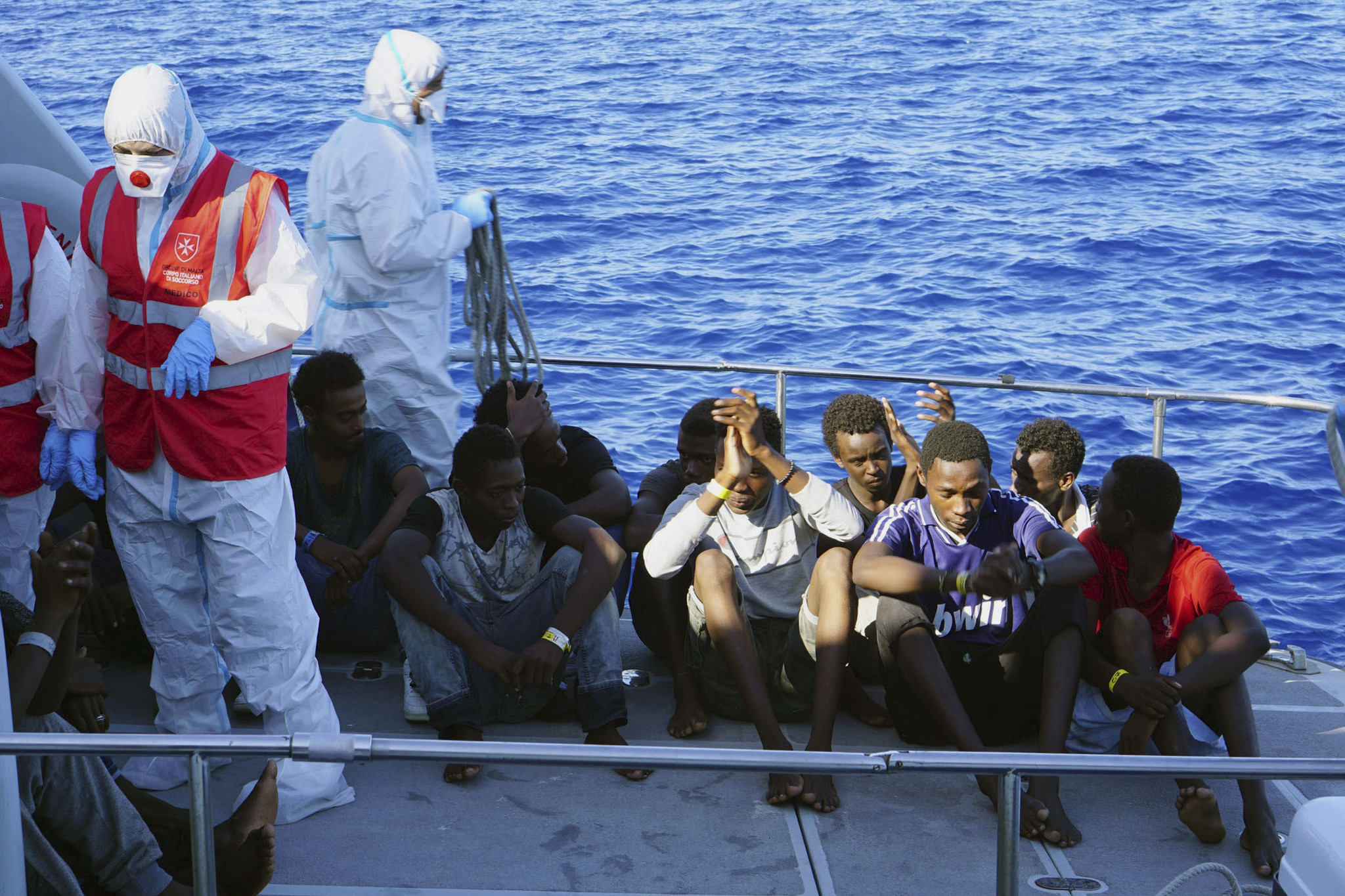 Italy's anti-immigrant minister unwillingly takes in 27 rescued migrant youths