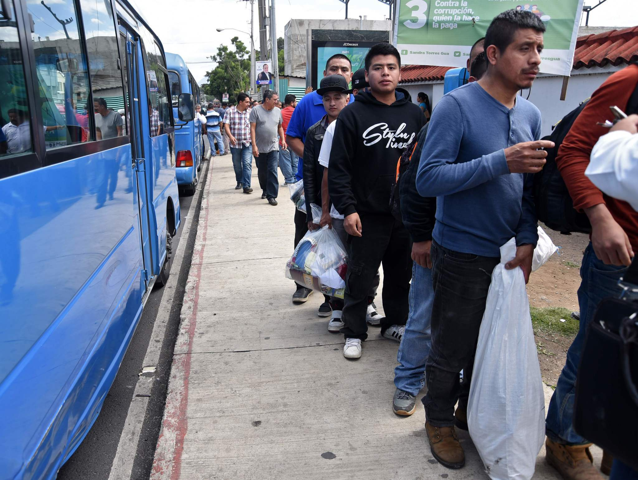 Offer more visas to people coming across the southern border