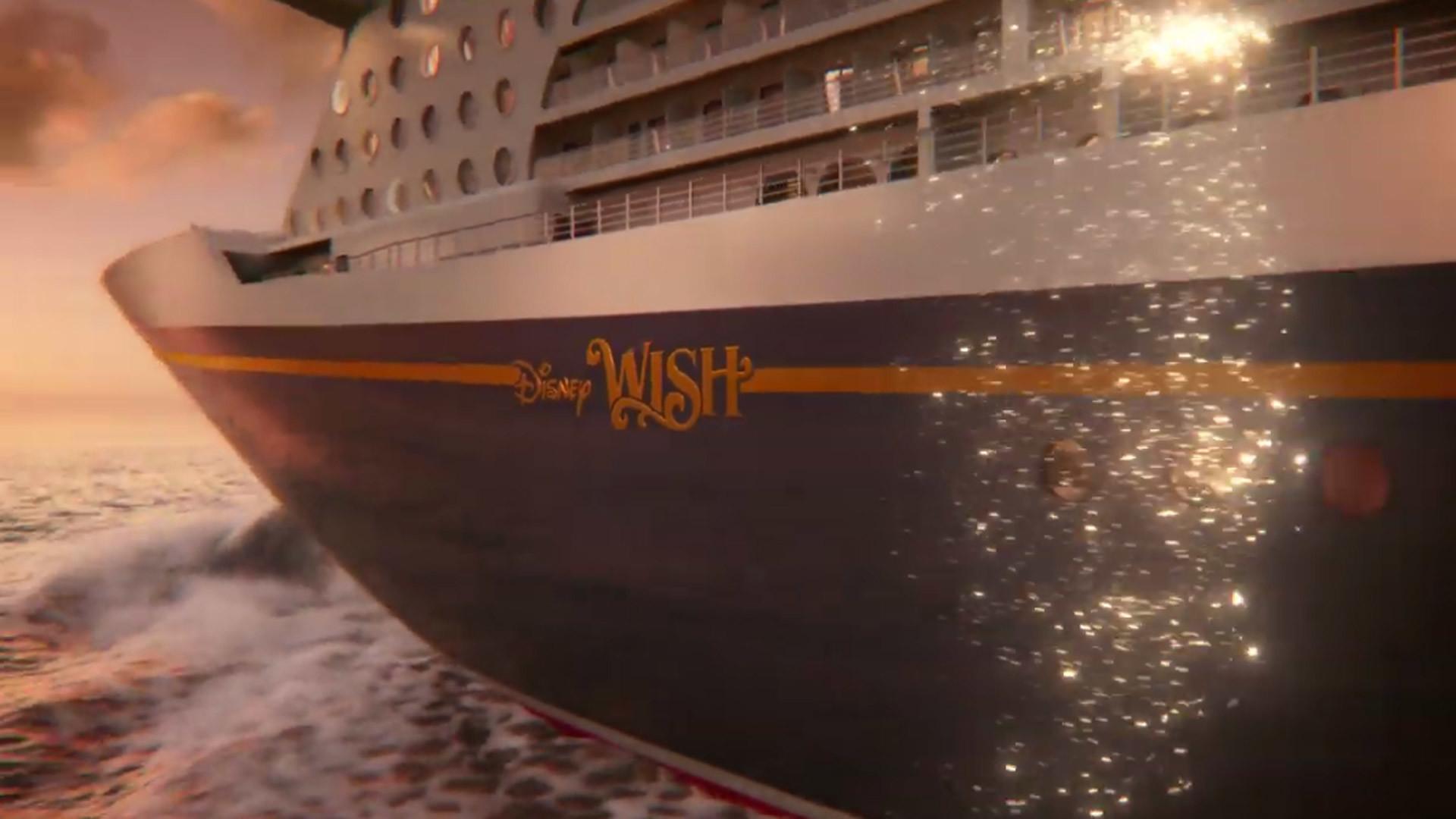 First Look At Disney Wish Cruise Ship Orlando Sentinel