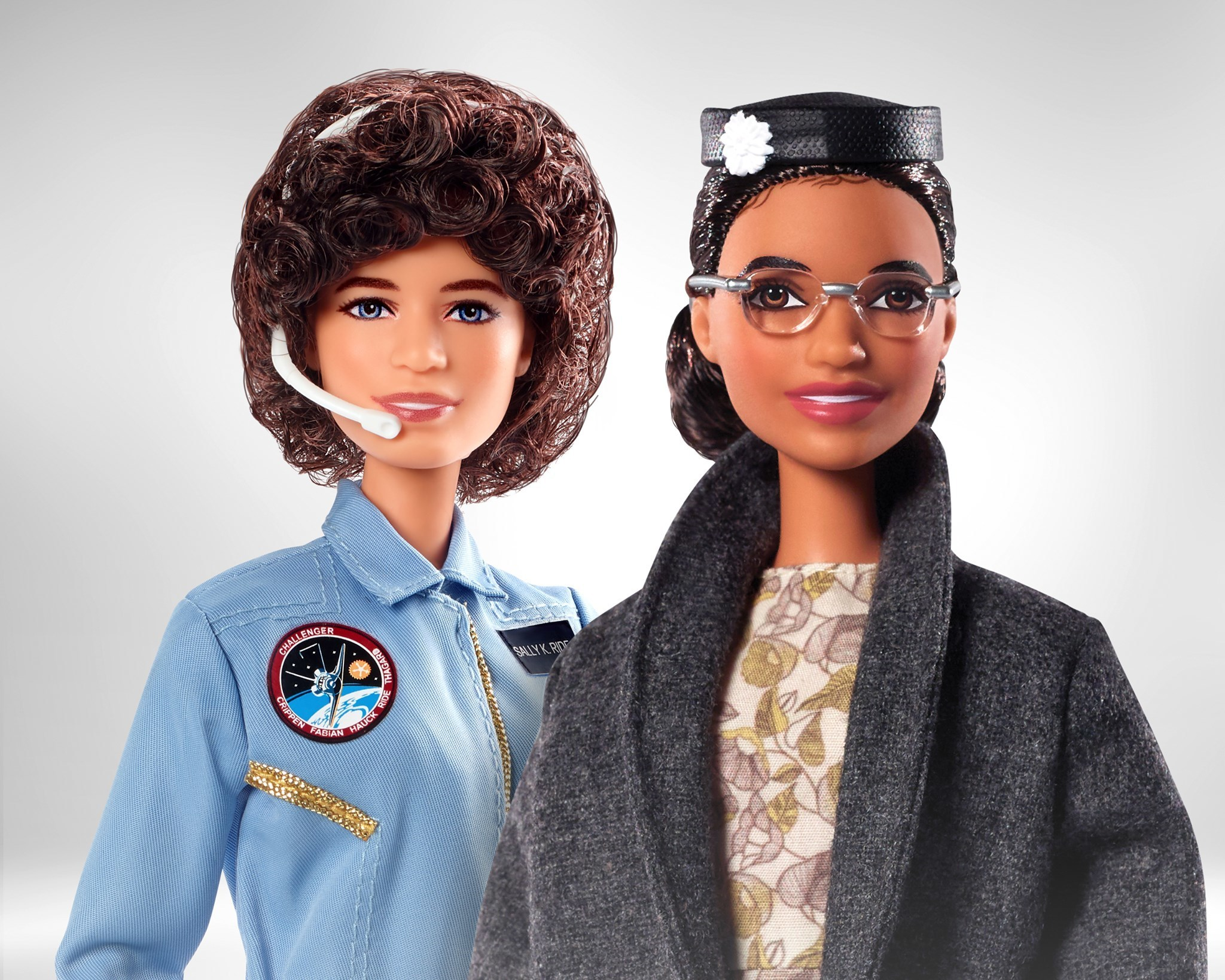 Barbie adds Rosa Parks and Sally Ride to its Inspiring Women Series