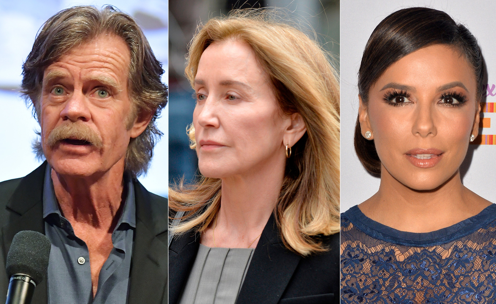 Eva Longoria and William H. Macy plead for judge to spare Felicity Huffman jail time