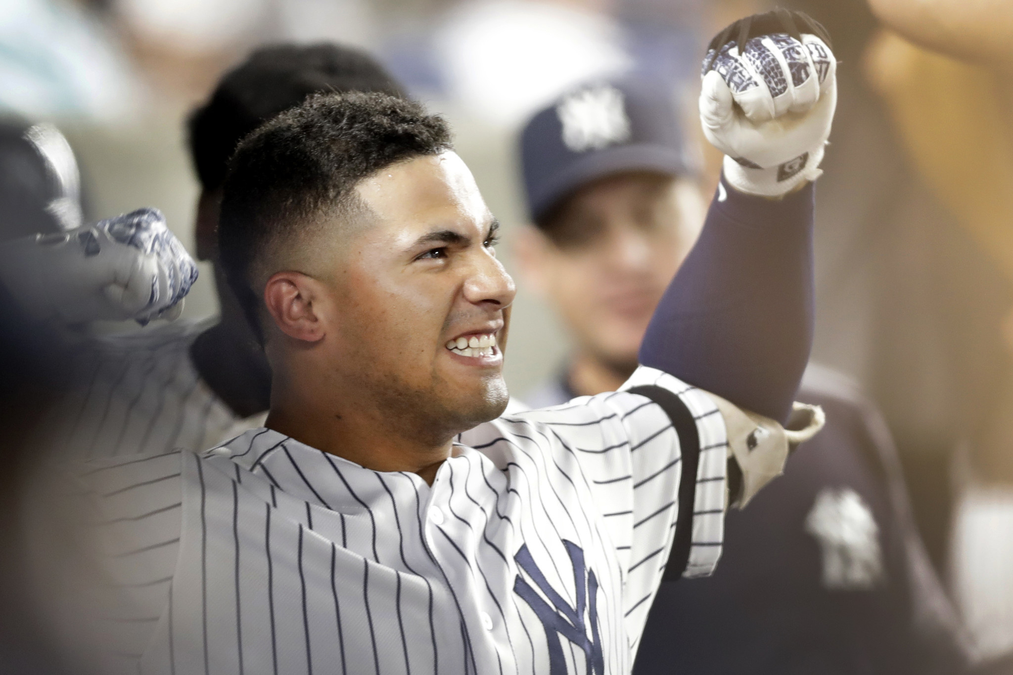 Gleyber Torres isn't filling Derek Jeter's shoes. He's just playing his spot