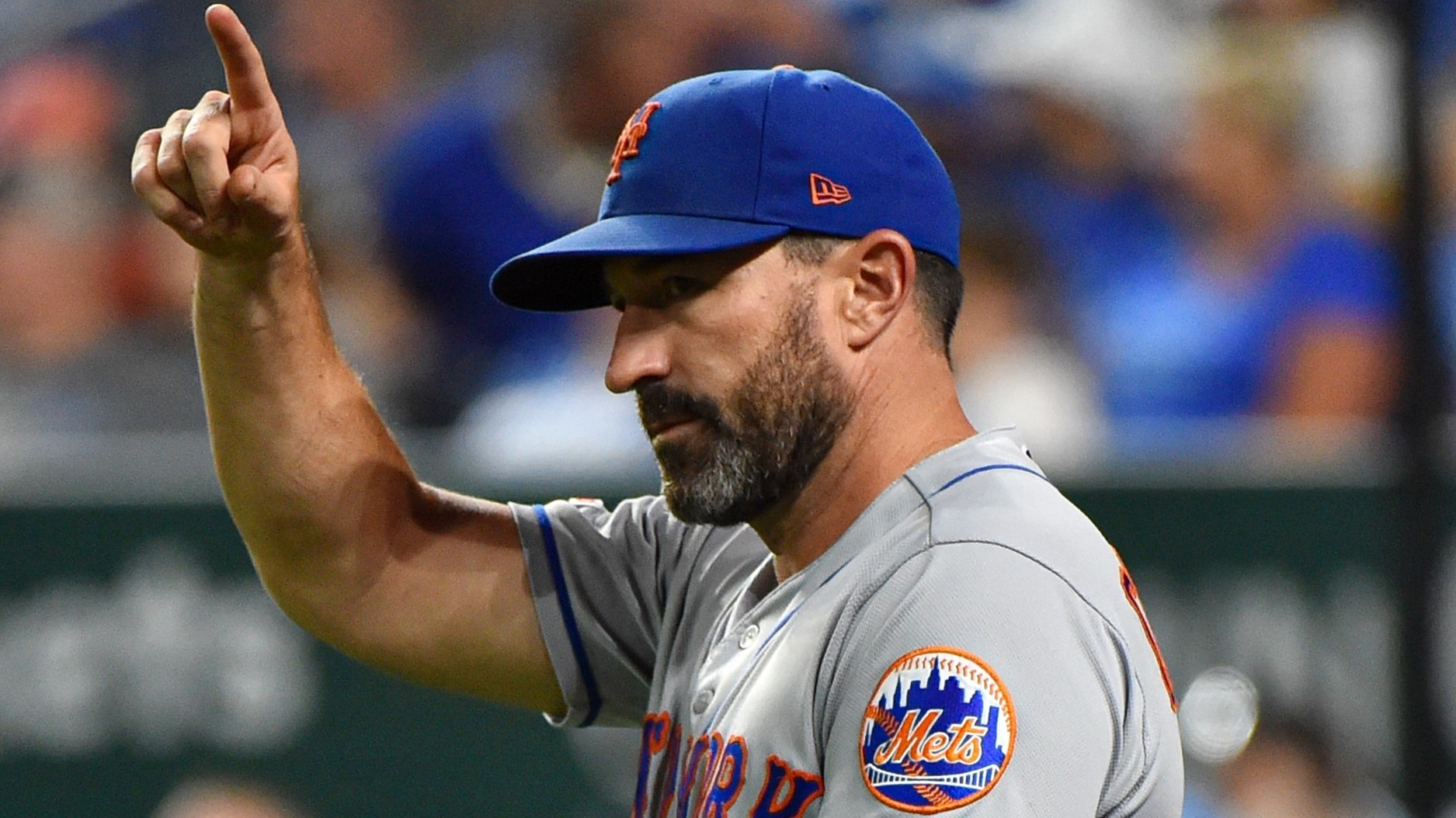 Mickey Callaway reacts to his Mets firing