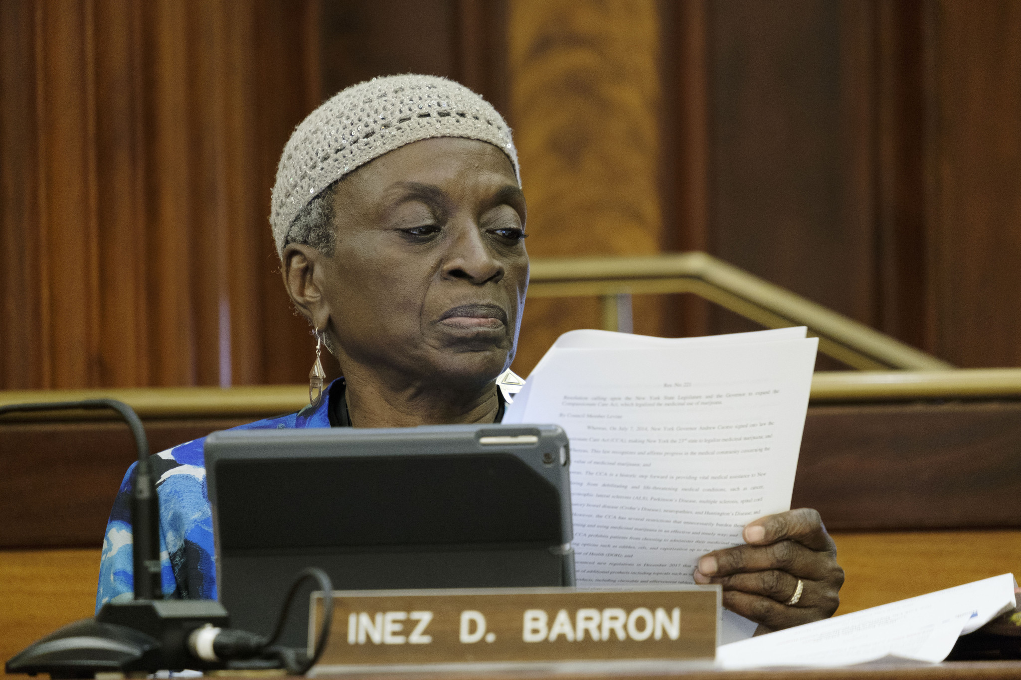 Inez Barron becomes second New York City Council member to test positive for coronavirus