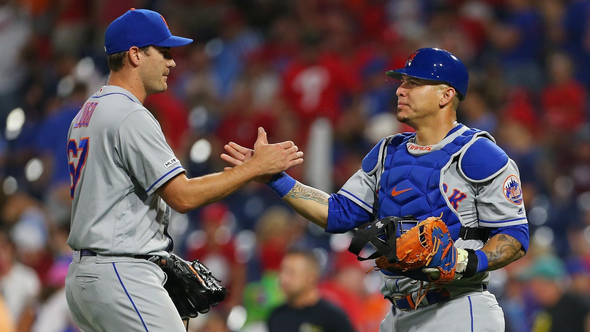 Mets bullpen fresh for critical Dodgers series