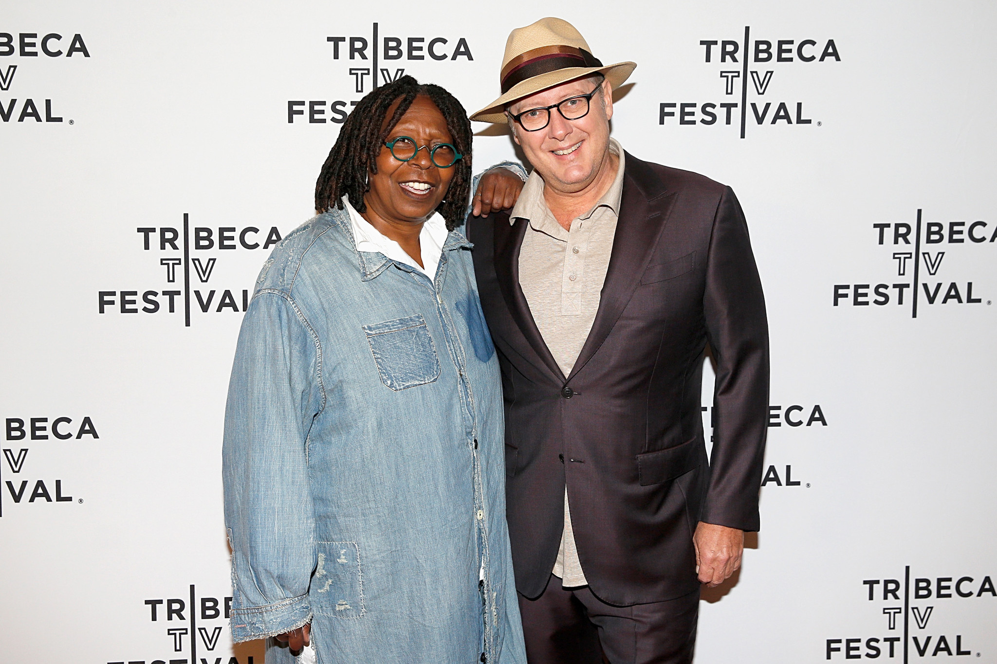 James Spader tells Whoopi Goldberg that 'Avengers' role was 'extremely challenging'