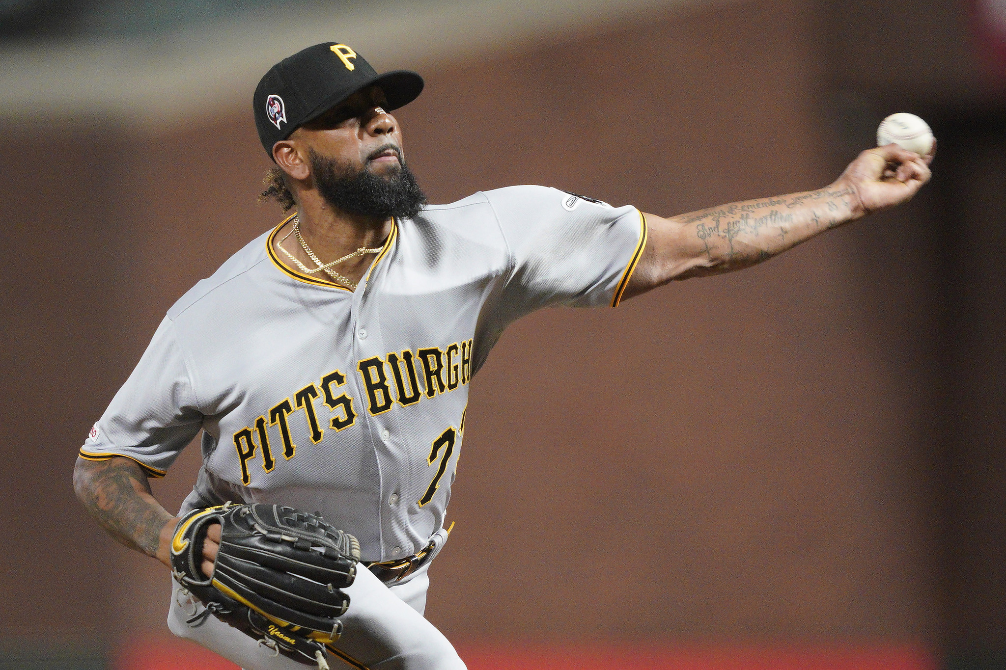 Pittsburgh Pirates pitcher Felipe Vazquez charged with child solicitation