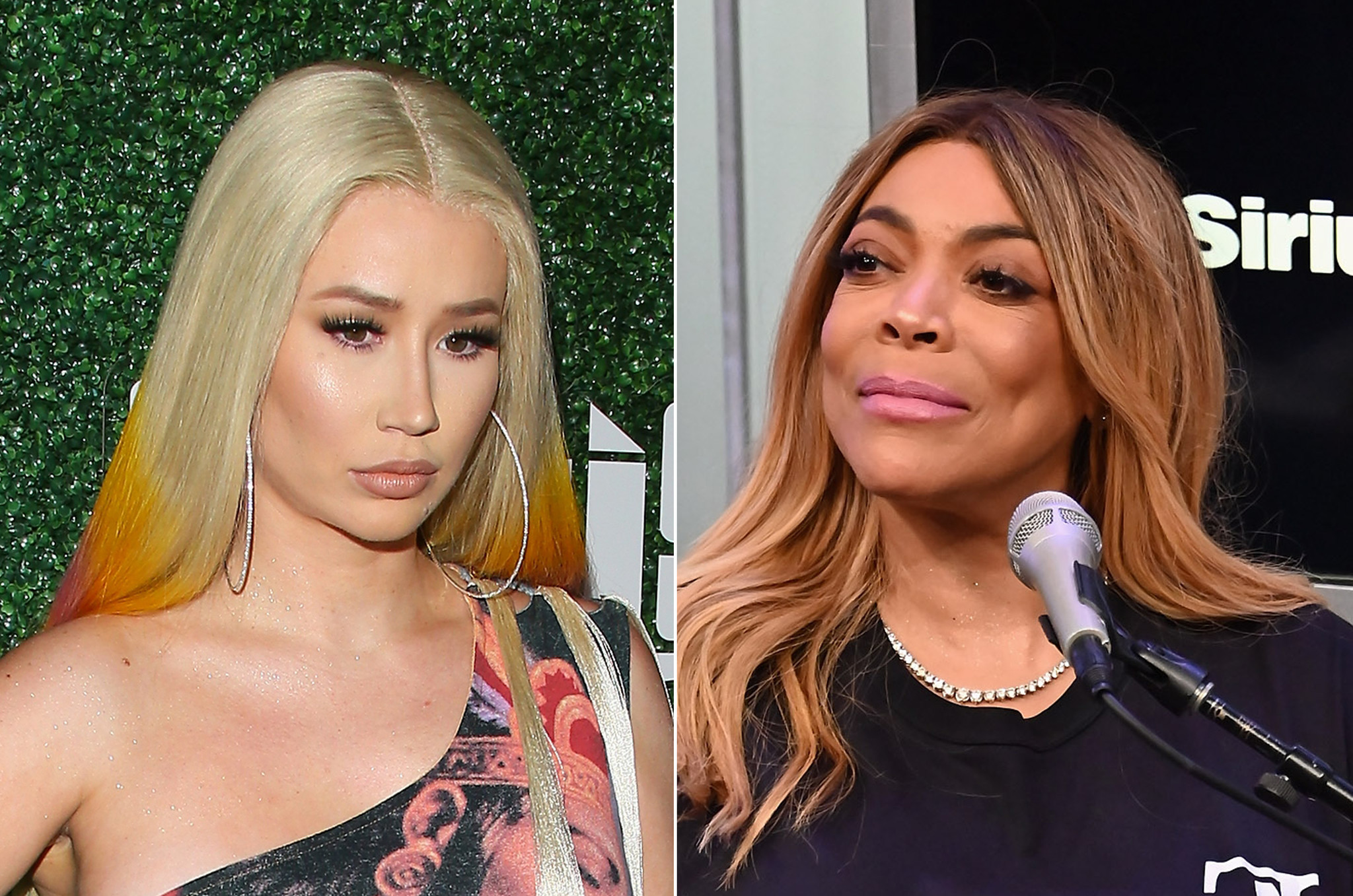 Iggy Azalea strikes back at Wendy Williams' shade throwing, calls her a 'crack head'