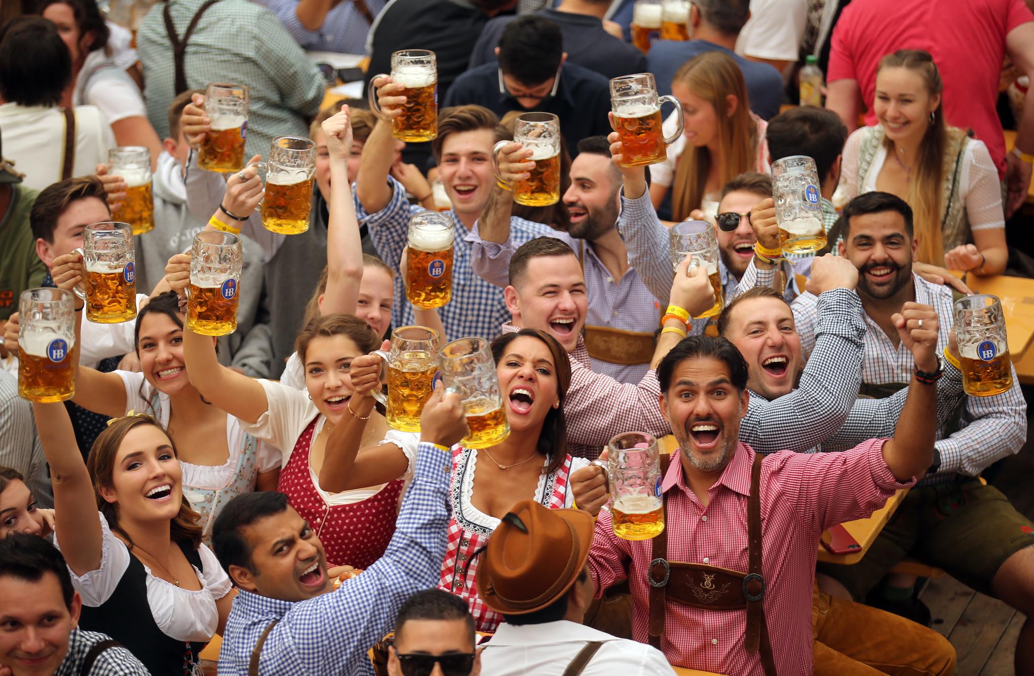 Oh, beer God! Oktoberfest has opened in Munich