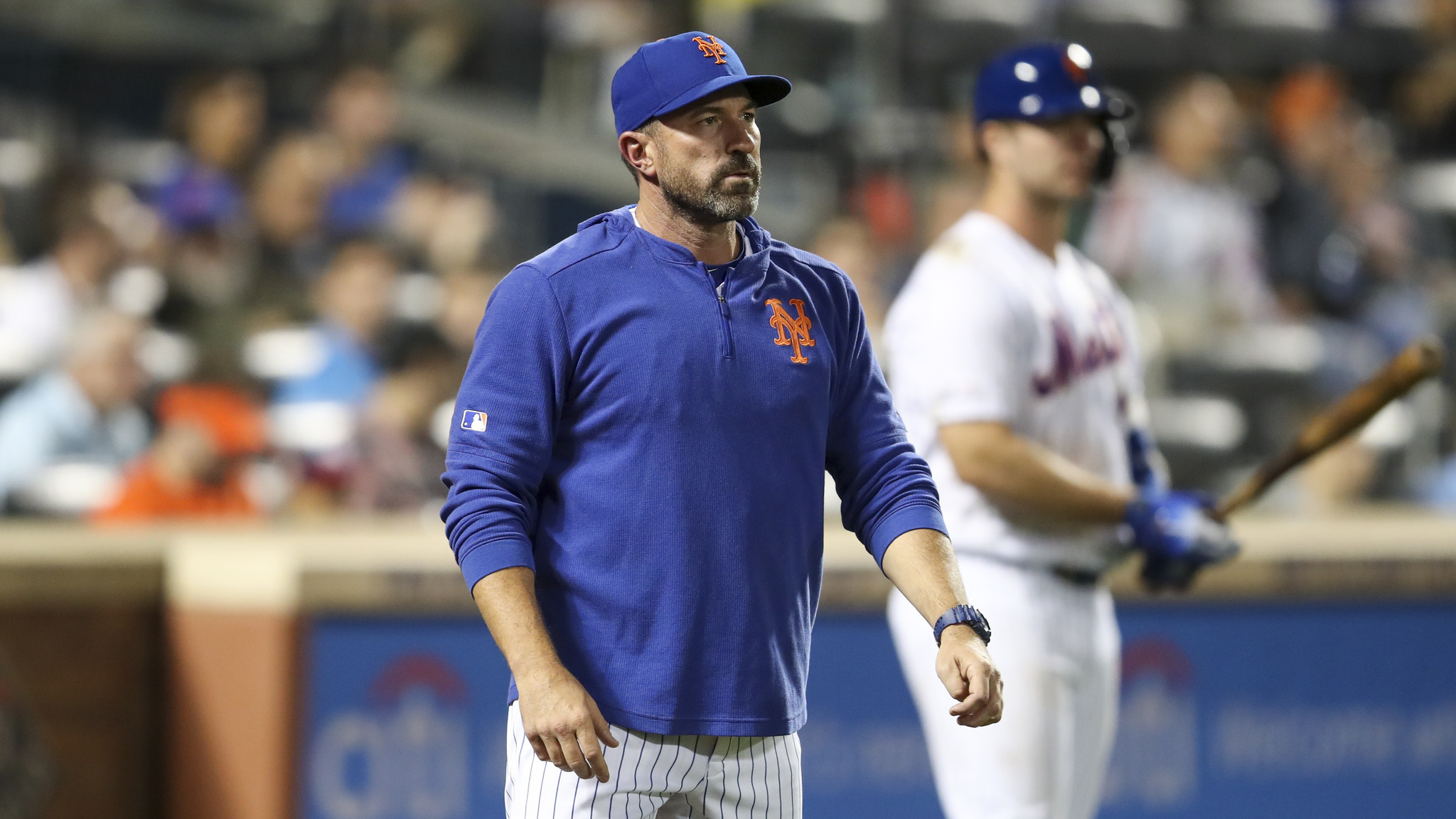 Mickey Callaway heads into uncertain future with Mets vowing to never give up
