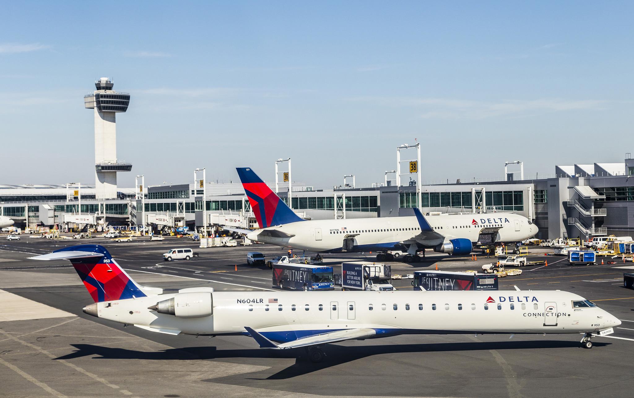 JFK, La Guardia and Newark airports shut down due to coronavirus exposure of staff: report