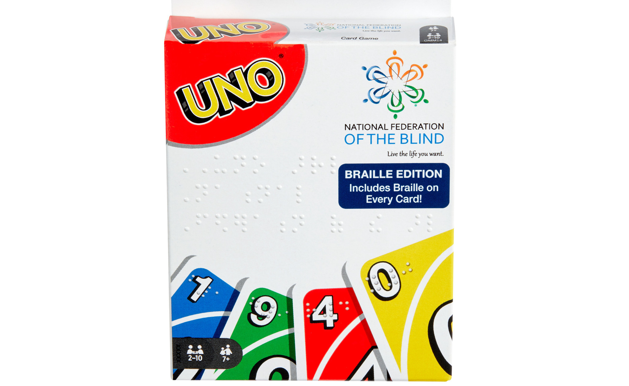 Uno shuffles up its first deck of Braille playing cards