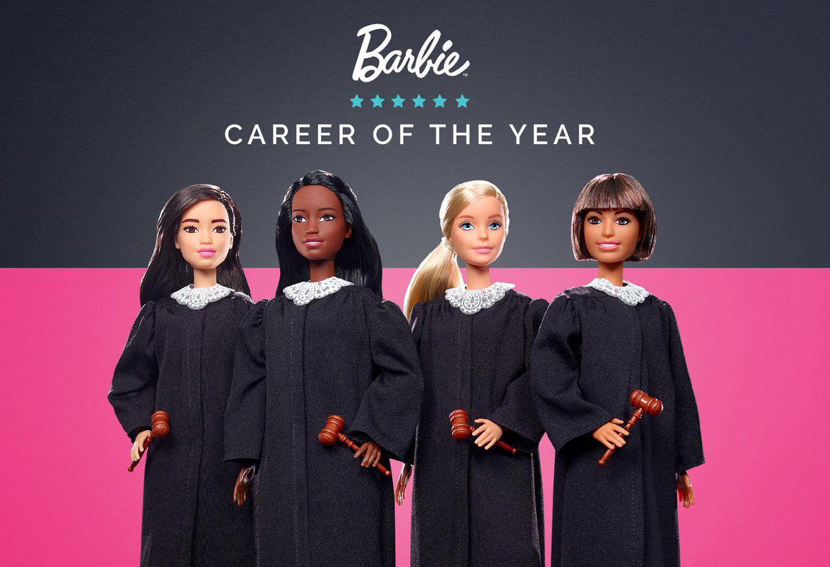 That's Judge Barbie to you: Mattel comes out with new career doll