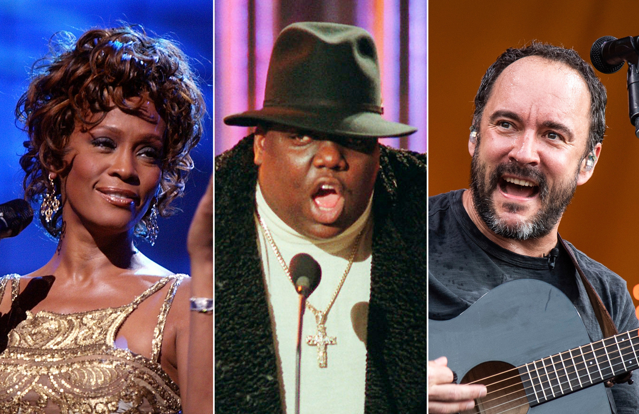 Whitney Houston, Notorious B.I.G. and Dave Matthews Band among finalists for Rock and Roll Hall of Fame inductions