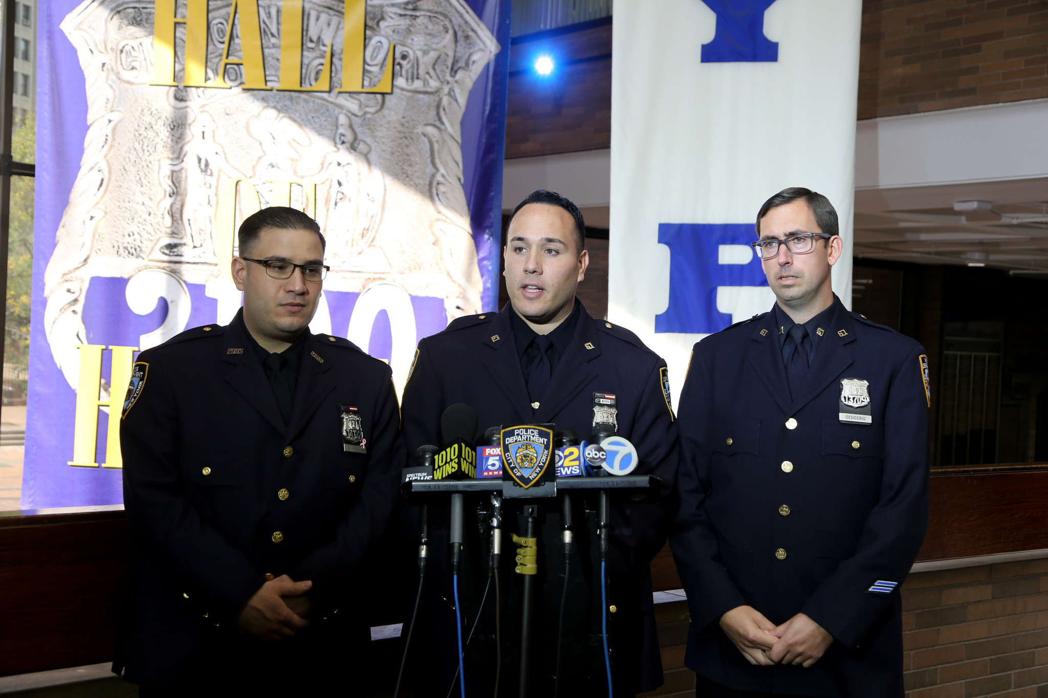 Three NYPD cops save life of Staten Island bowler