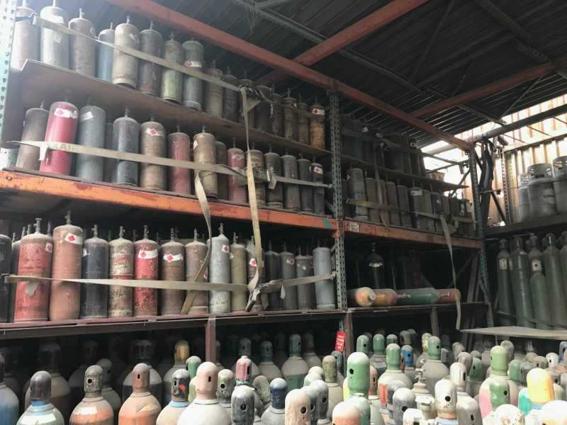 'One errant spark, and that's all she wrote': FDNY finds 4,000 tanks of flammable gas stored at welding business near Citi Field