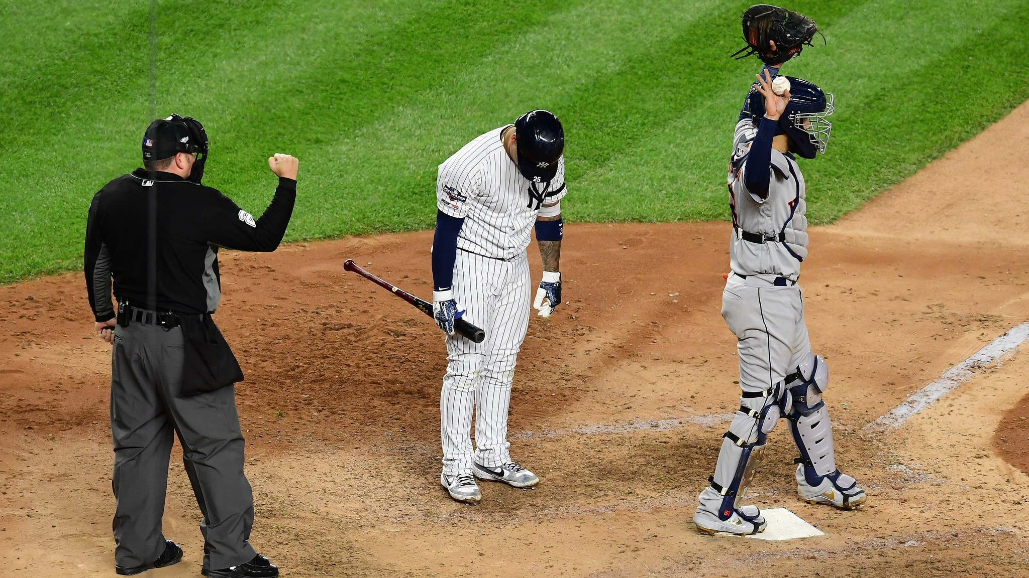 Gleyber Torres doesn't believe the Astros cheating stopped after 2017
