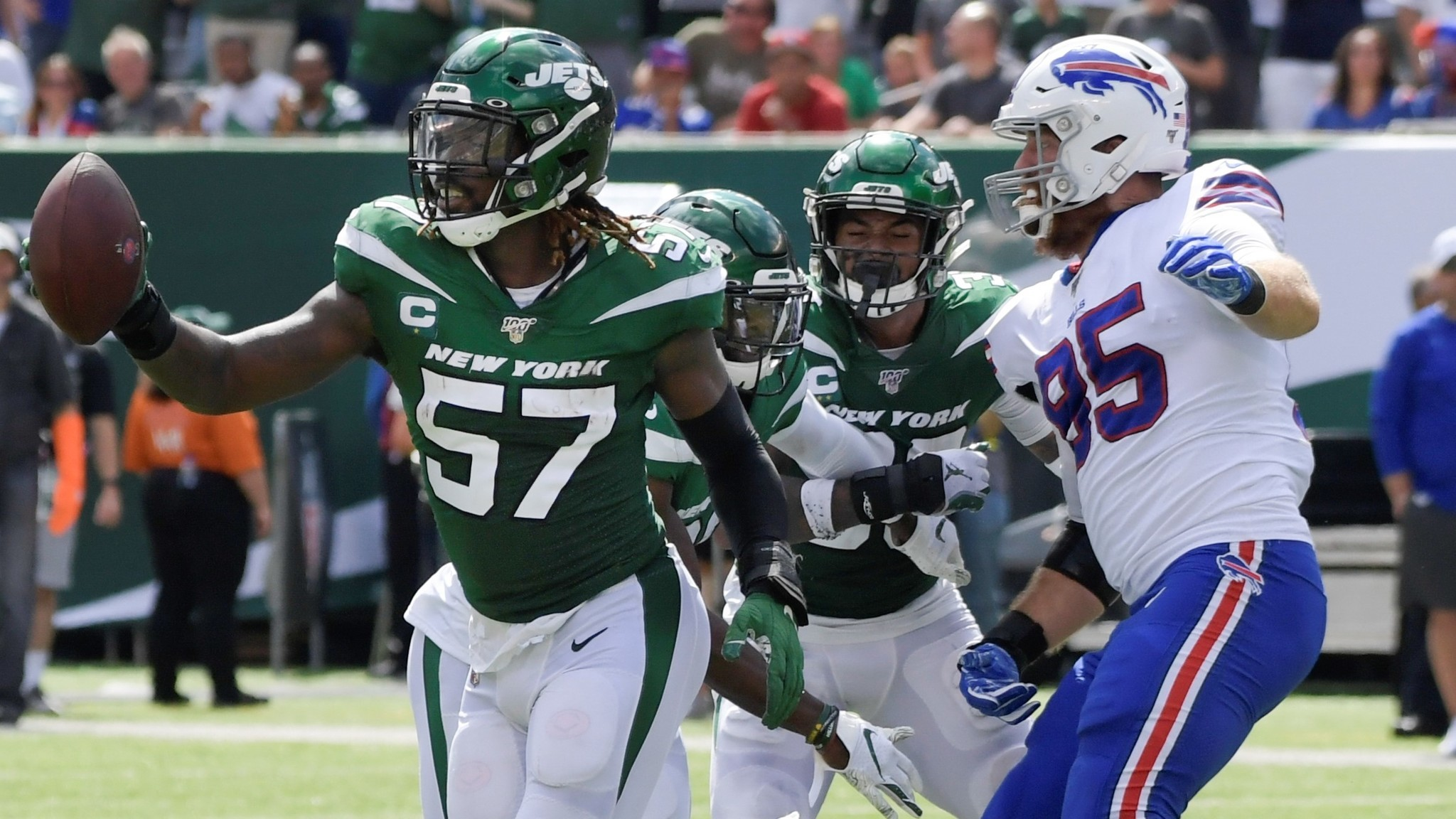 C.J. Mosley says he'll play against Patriots on Monday, giving Jets defense huge boost