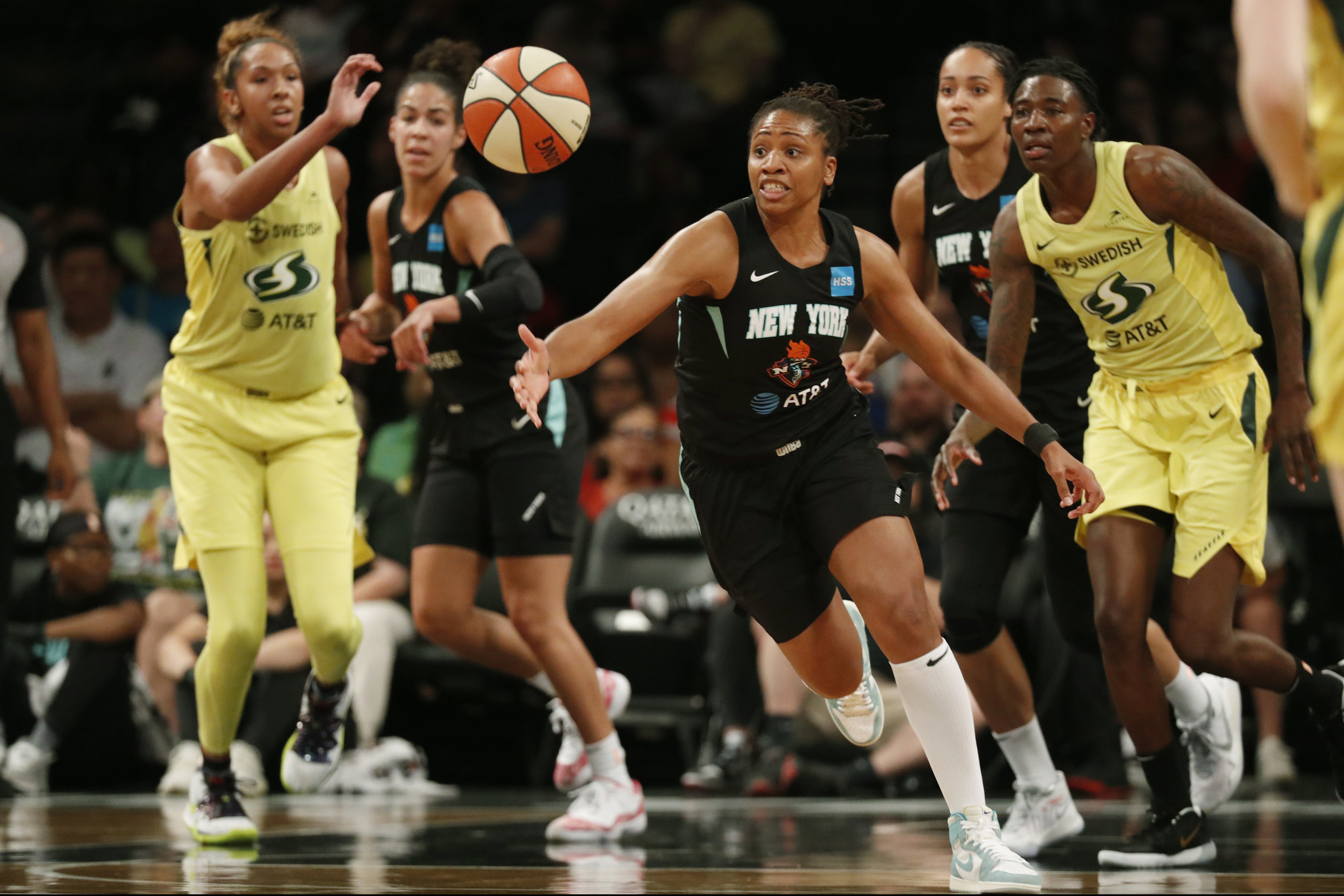 The WNBA just got paid maternity leave ... in 2020