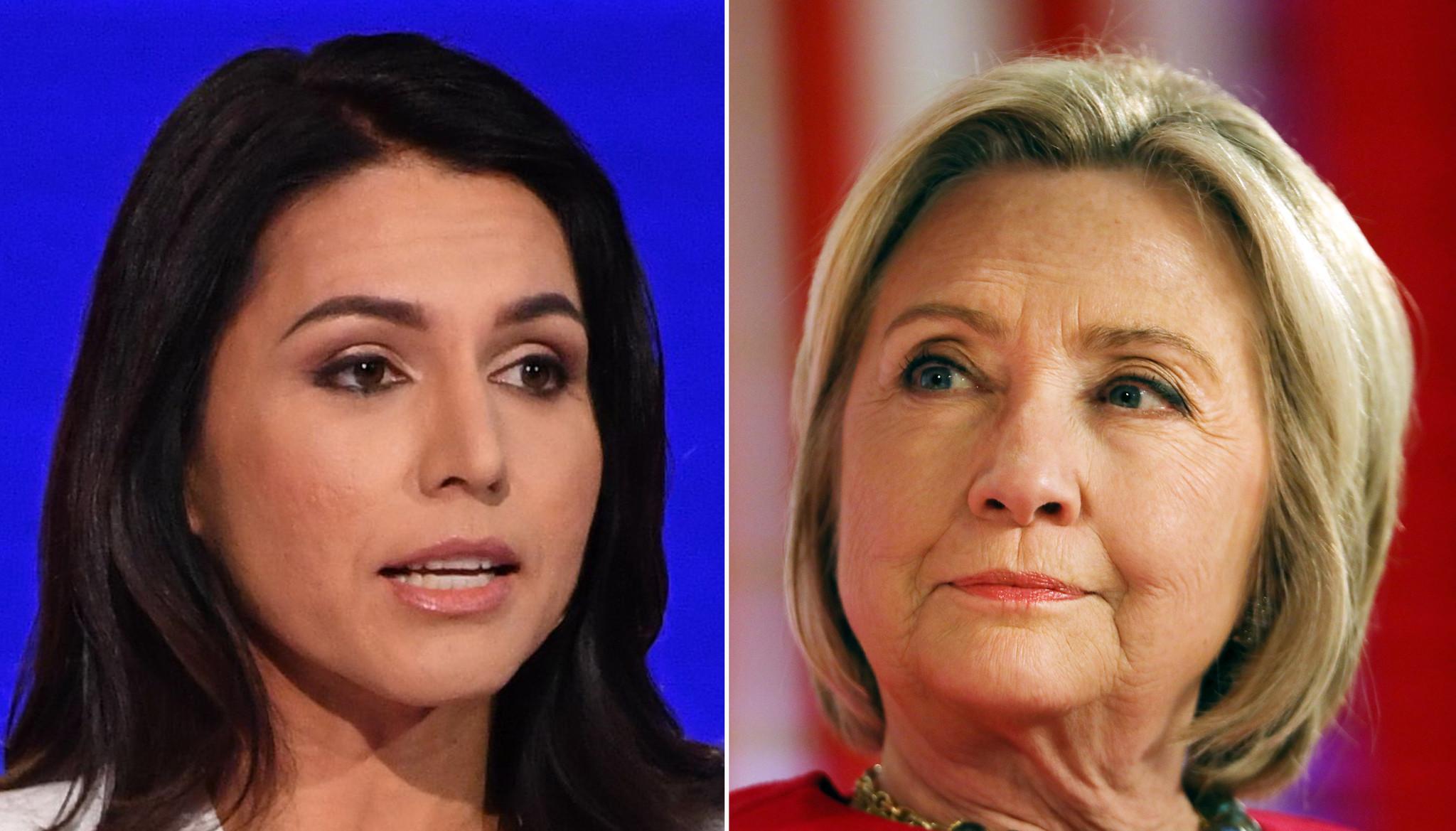 Tulsi Gabbard sues Hillary Clinton over 'Russian asset' jibe