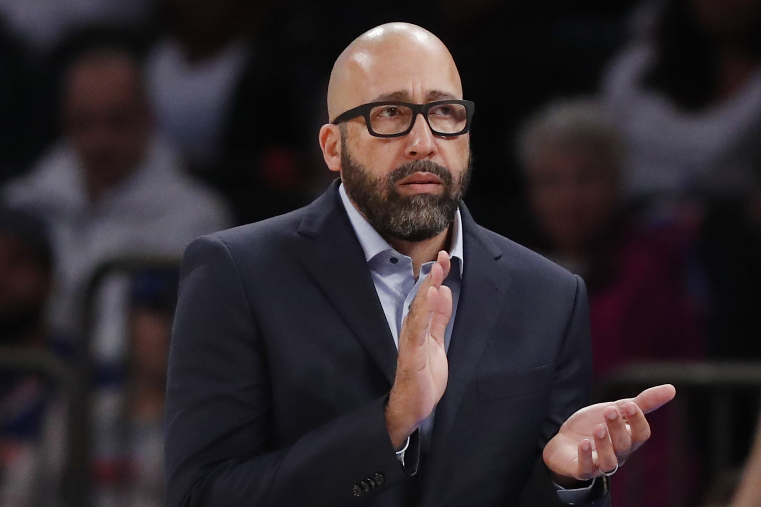 Two days later, the Knicks thank David Fizdale