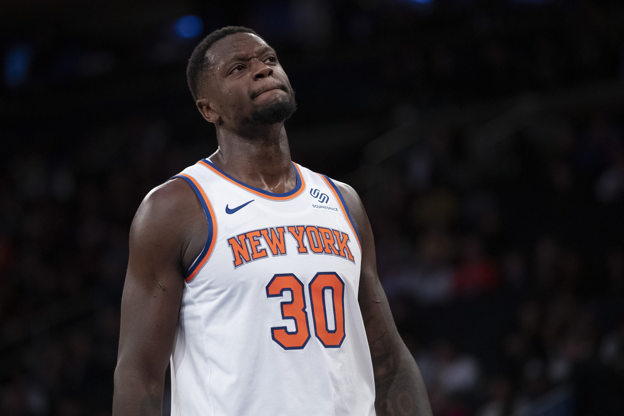 Knicks fall after Fizdale's starting lineup flops