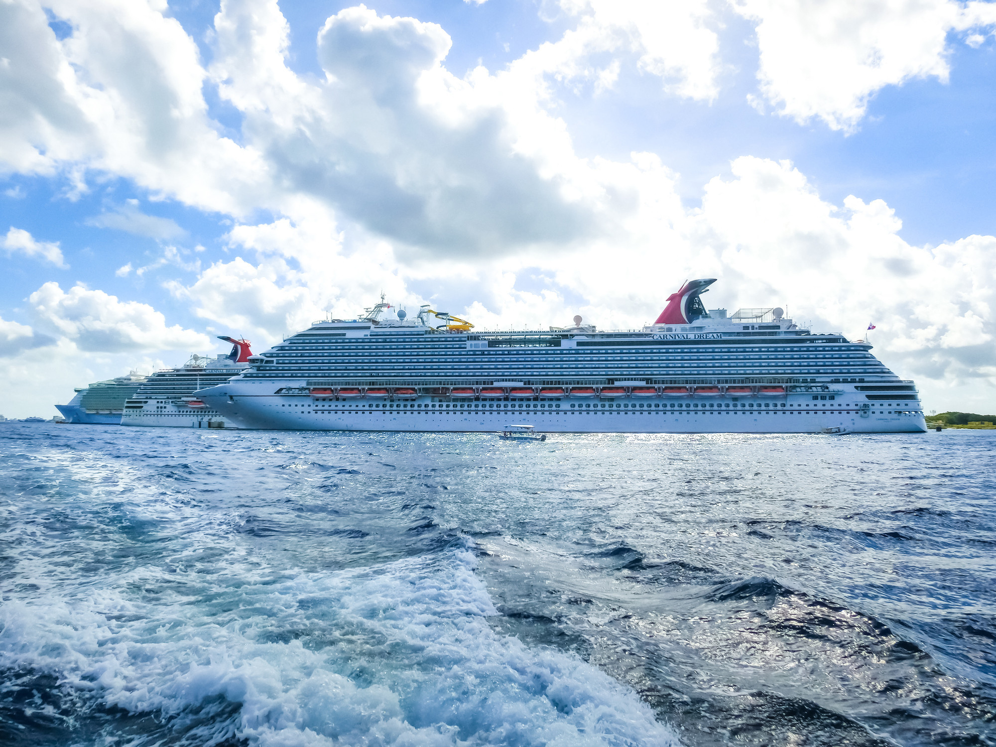 Coast Guard search underway for 26-year-old who went overboard from Carnival cruise