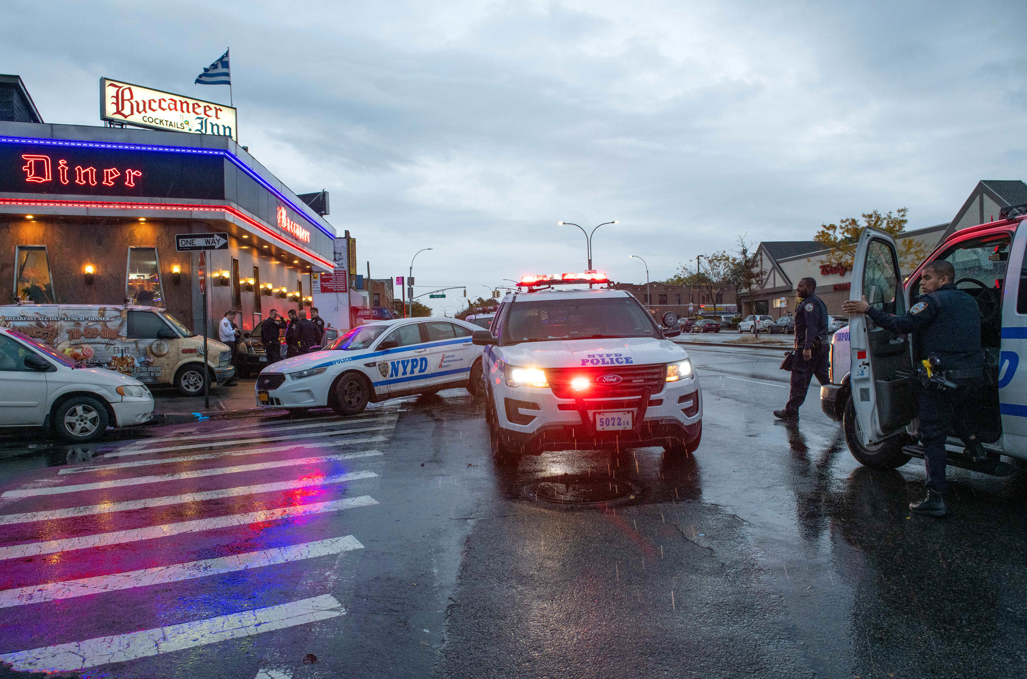 Man, 50, fatally struck by Lexus while crossing street outside NYC diner