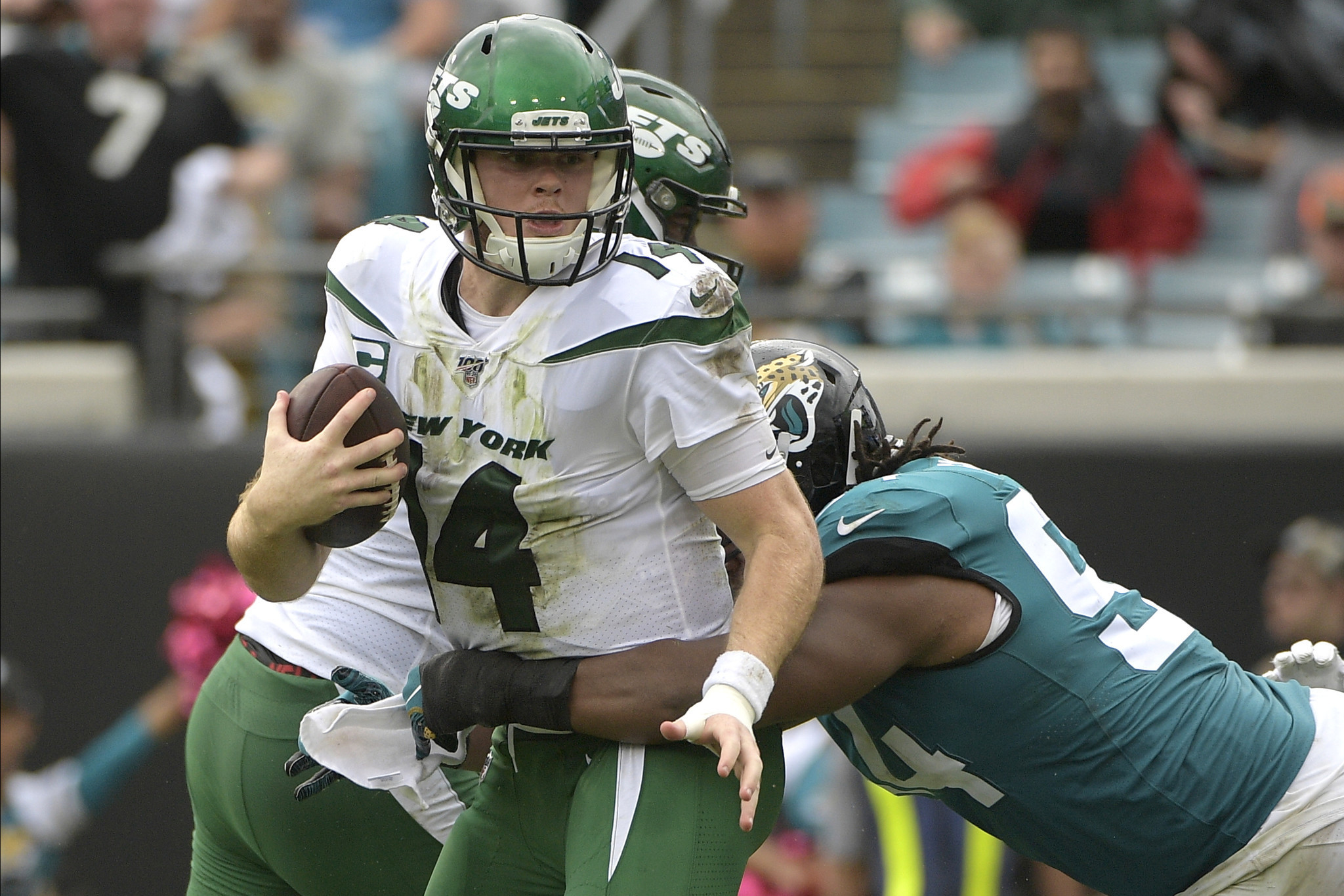 Nothing went right for Jets offense against Jaguars