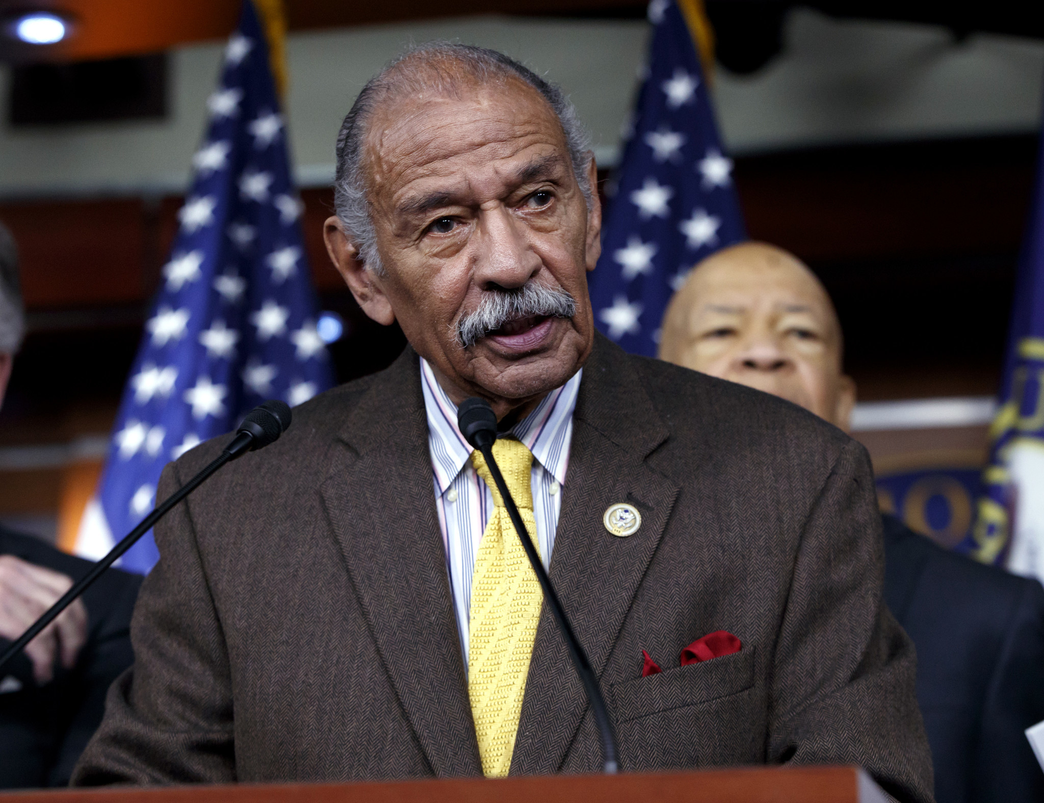 Rep. John Conyers, longest-serving African-American member of House, dies age 90