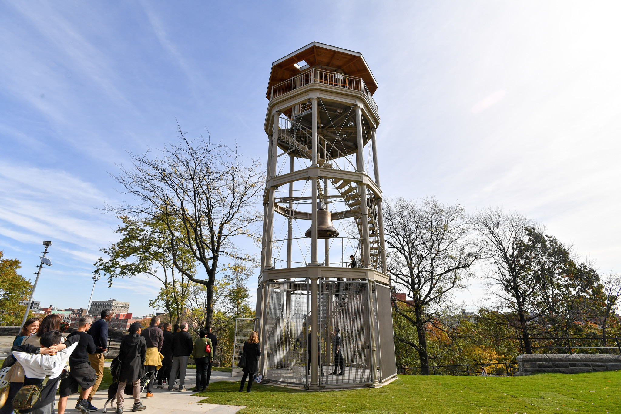 Reason to get excited: A historic Harlem watchtower is beautifully restored