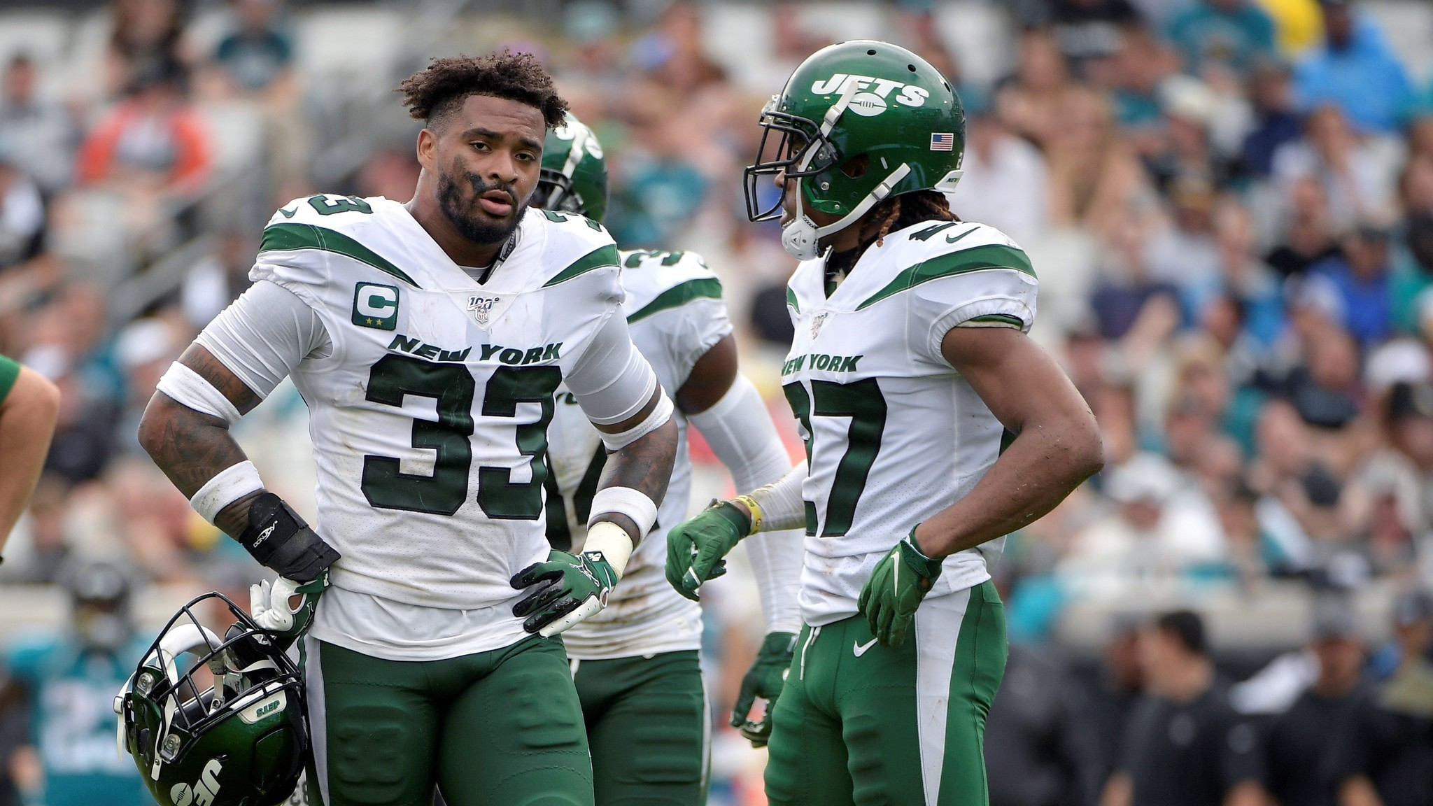Jamal Adams says he wants to lead Jets to Super Bowl after clearing the air with Adam Gase and Joe Douglas