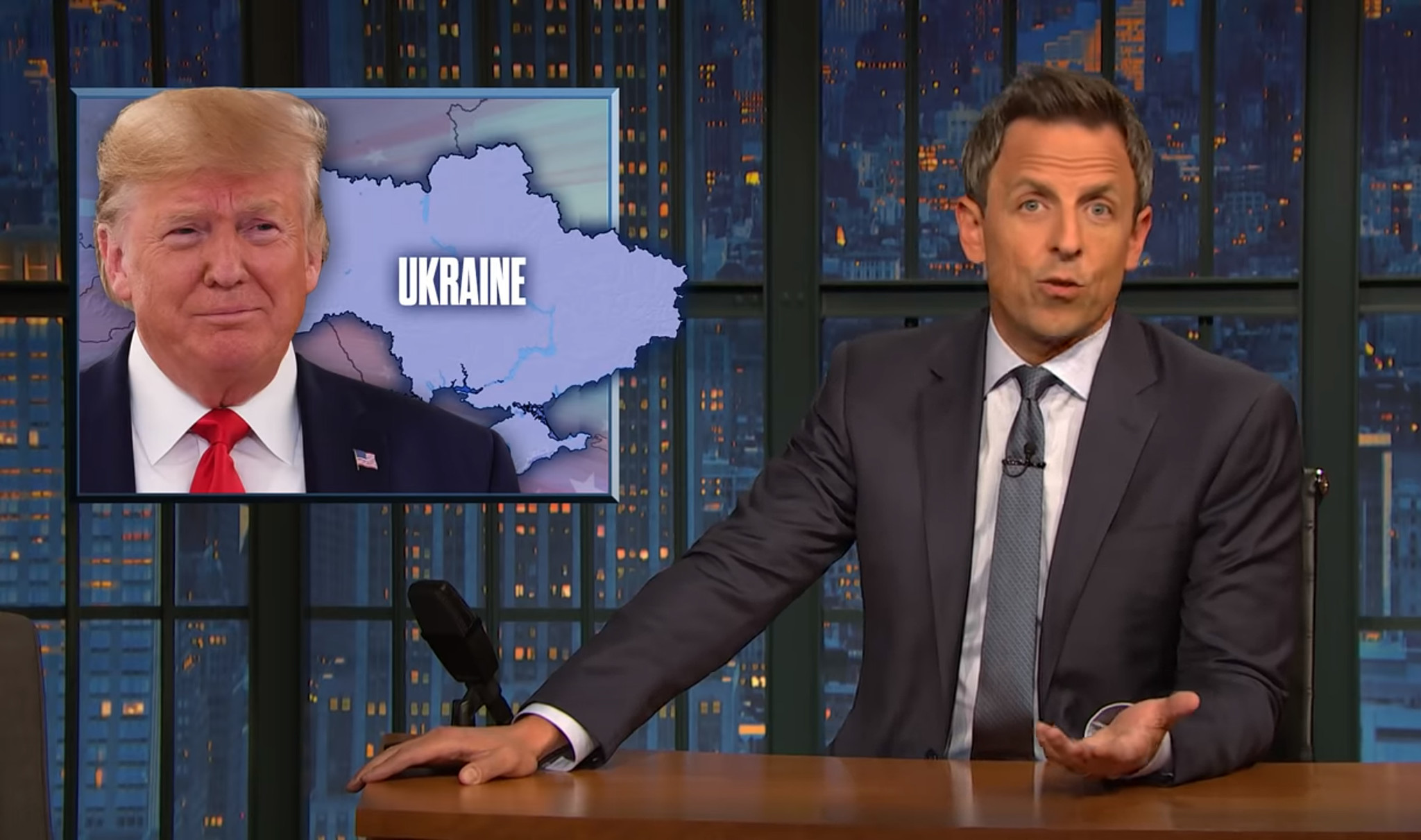 Trump supporters will have the option to 'skip politics' when Seth Meyers' stand-up special hits Netflix Tuesday