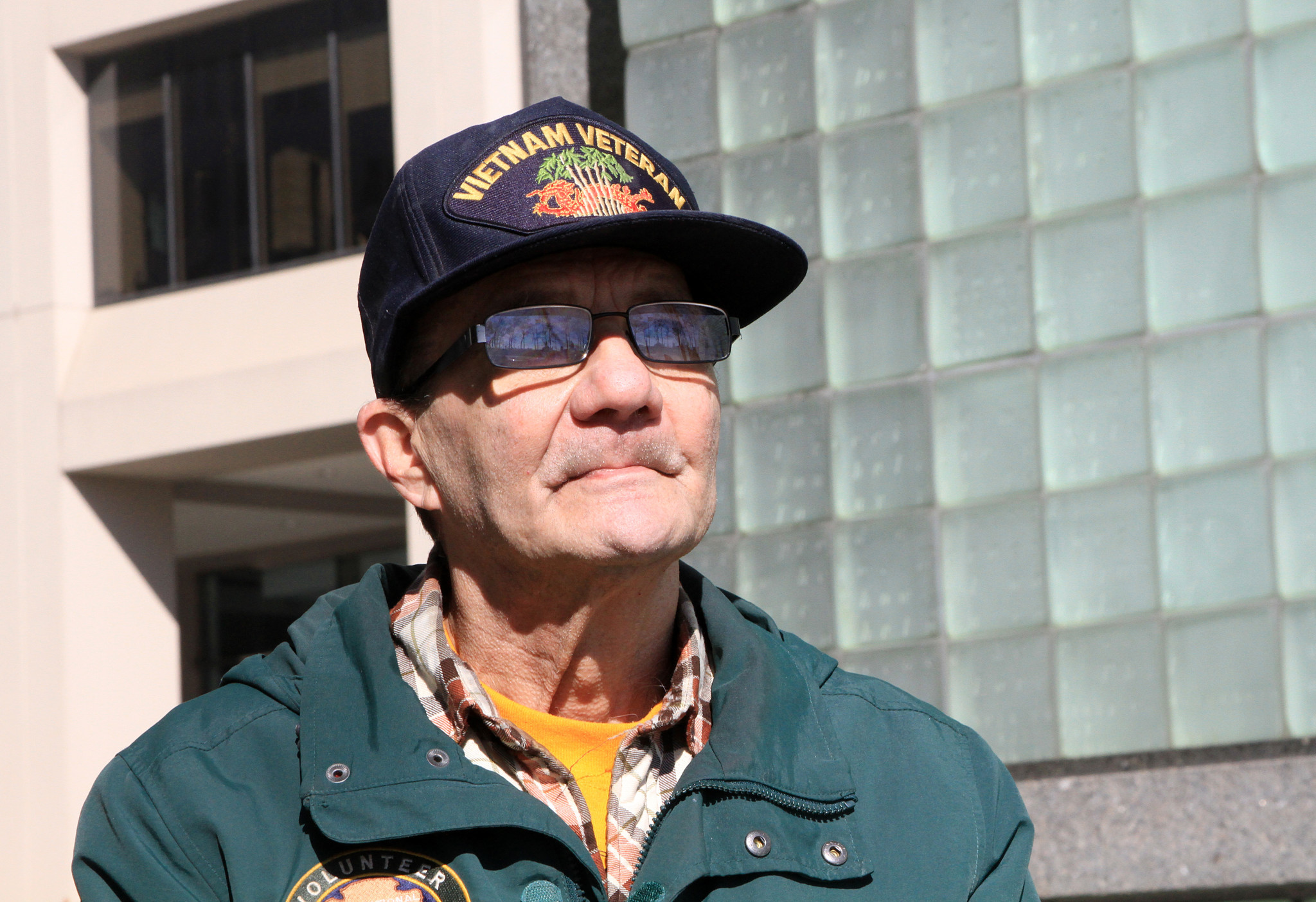 Vietnam vet and long time Statue of Liberty 'keeper of the flame' urges others to serve their communities