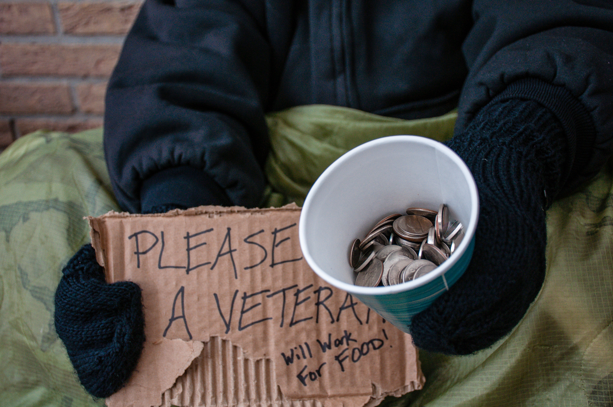 Homeless veterans need much more help