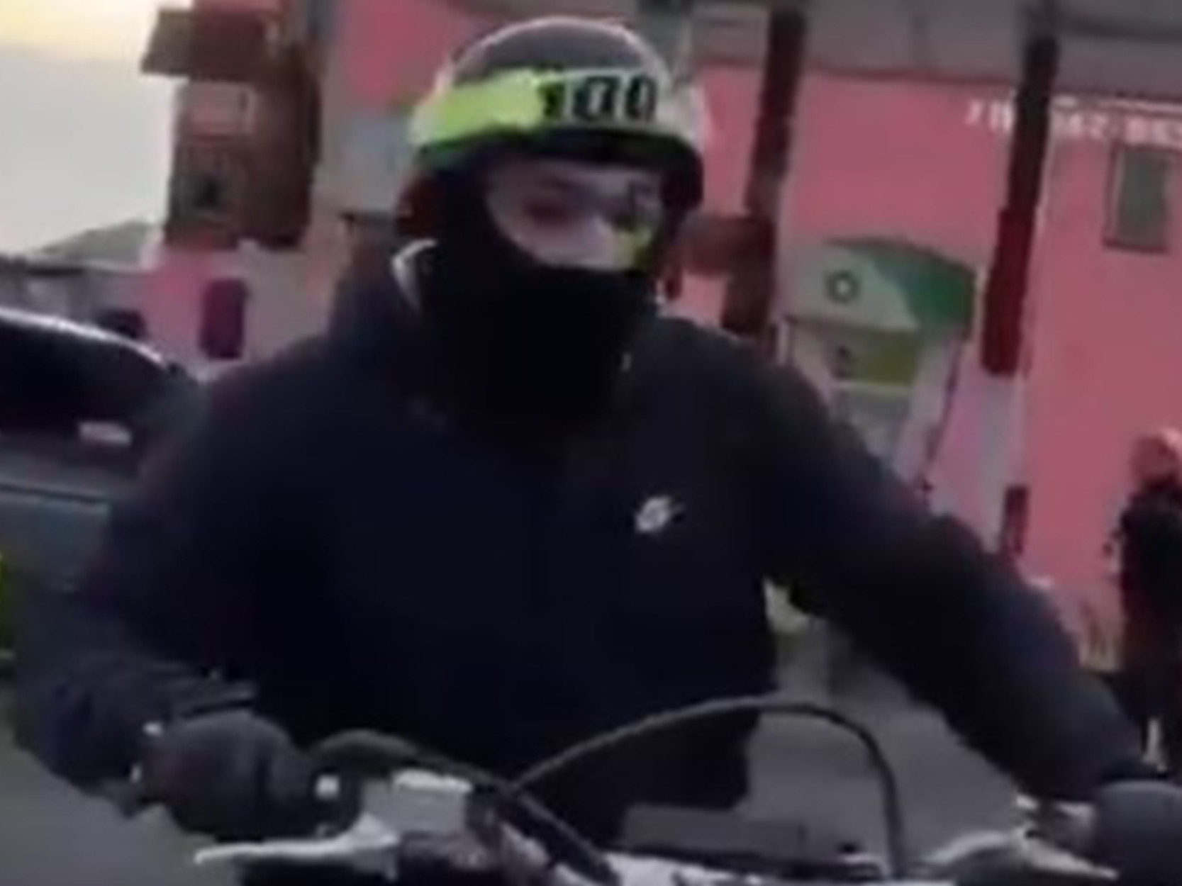 Cops release photo of biker accused of harassing cop at Bronx gas station