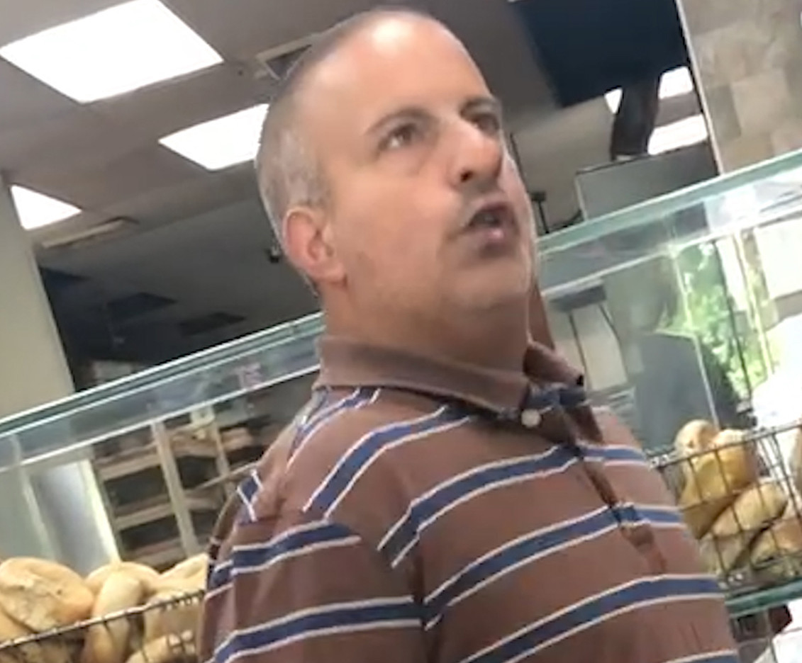 'Bagel Boss Guy' Chris Morgan, whose offensive anti-women rants went viral, has been hospitalized after apparent stroke