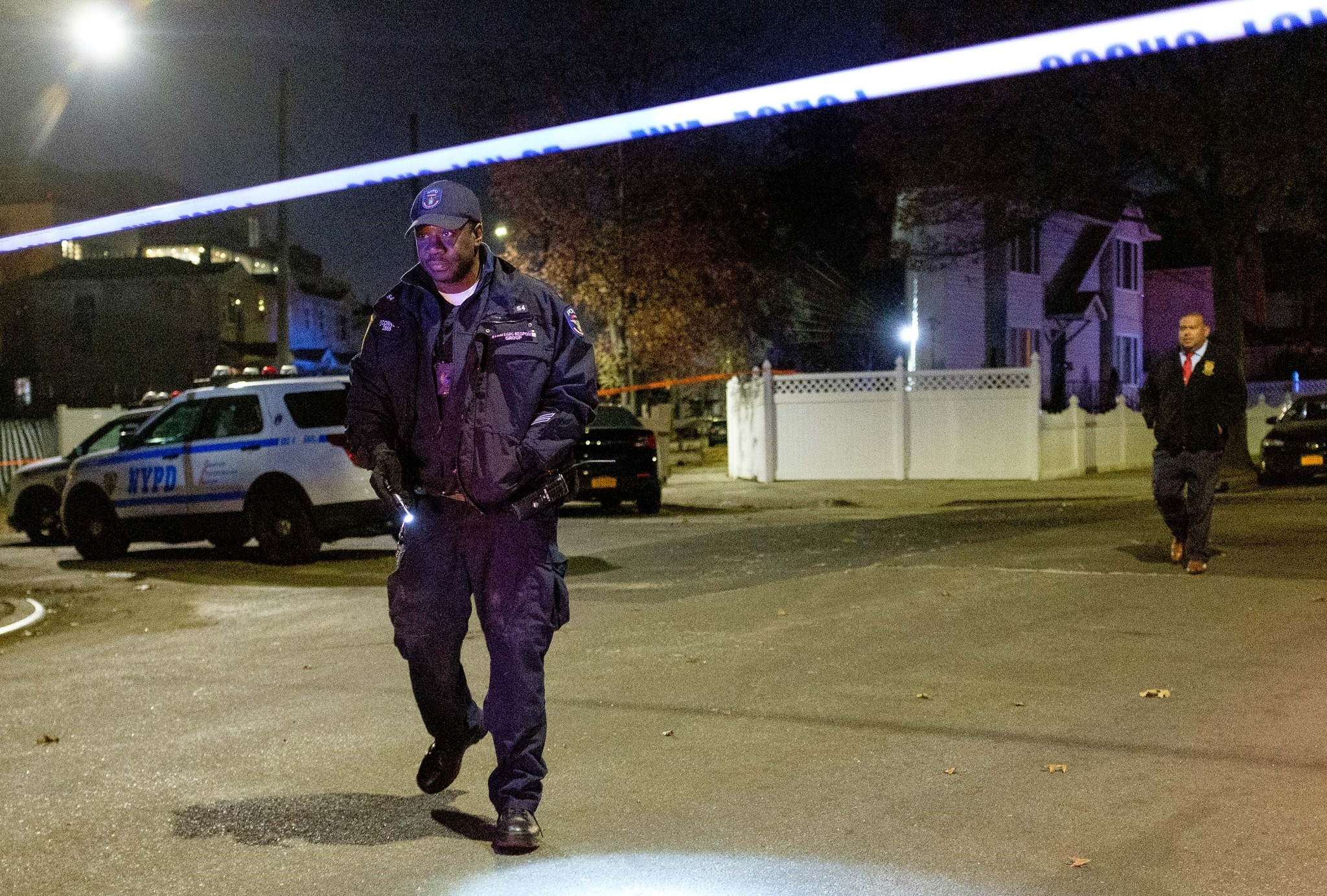 Woman found fatally stabbed in tree-lined Queens neighborhood