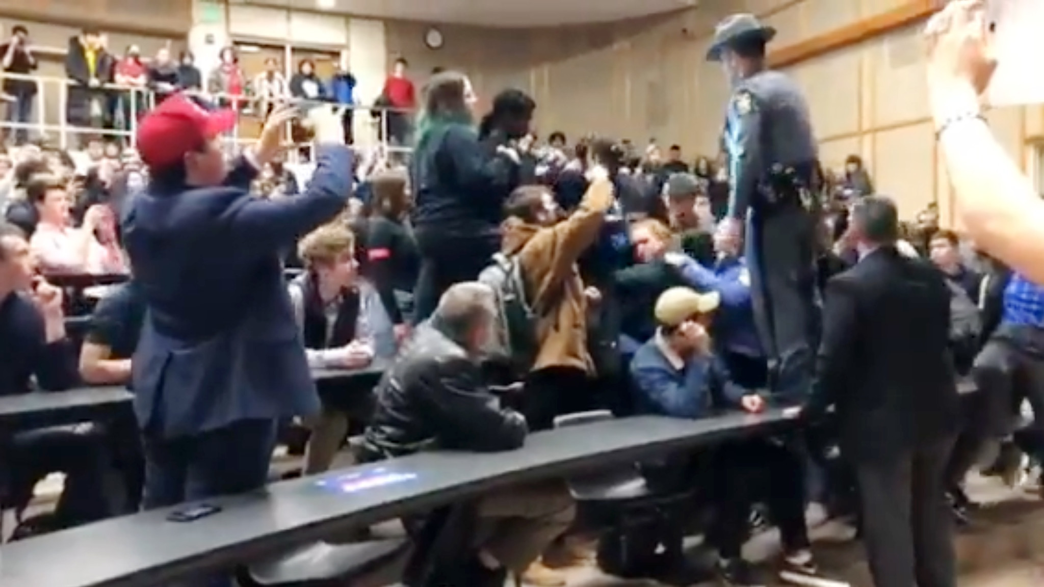 Freedom 101: Slowly but surely, New York universities are learning how to deal with students who disrupt speech