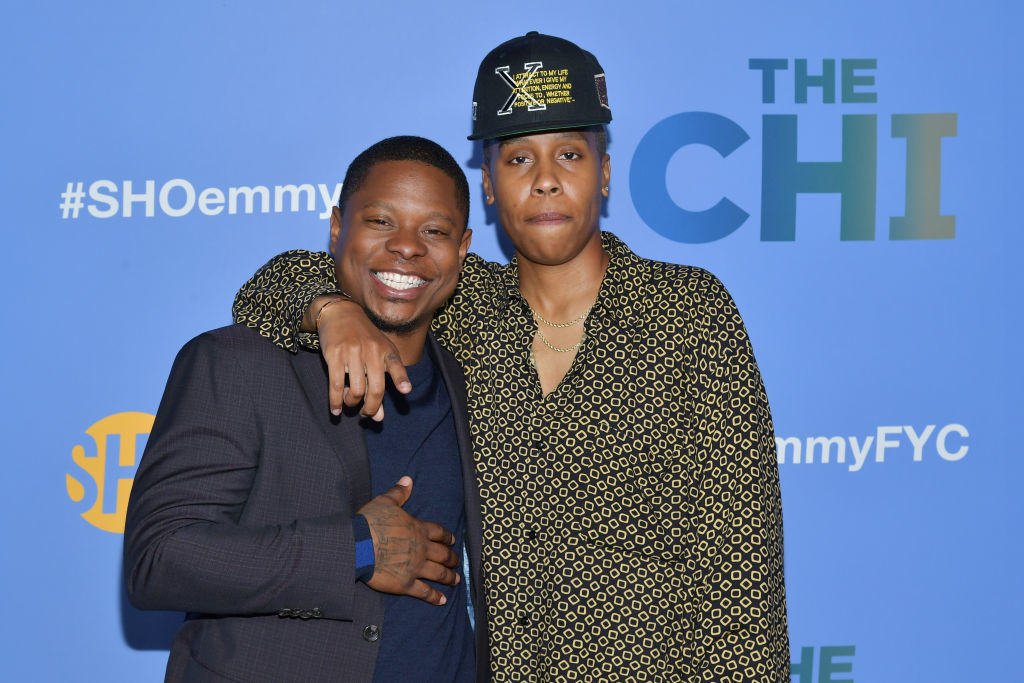 Emmy winner Lena Waithe is not against working with embattled 'The Chi' actor Jason Mitchell