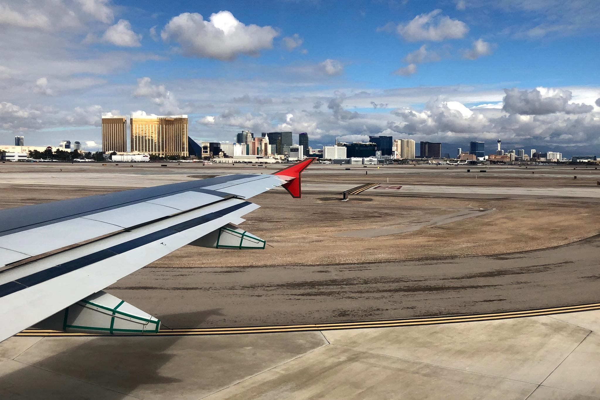 Las Vegas police shoot man accused of attacking them on tarmac at McCarran International Airport