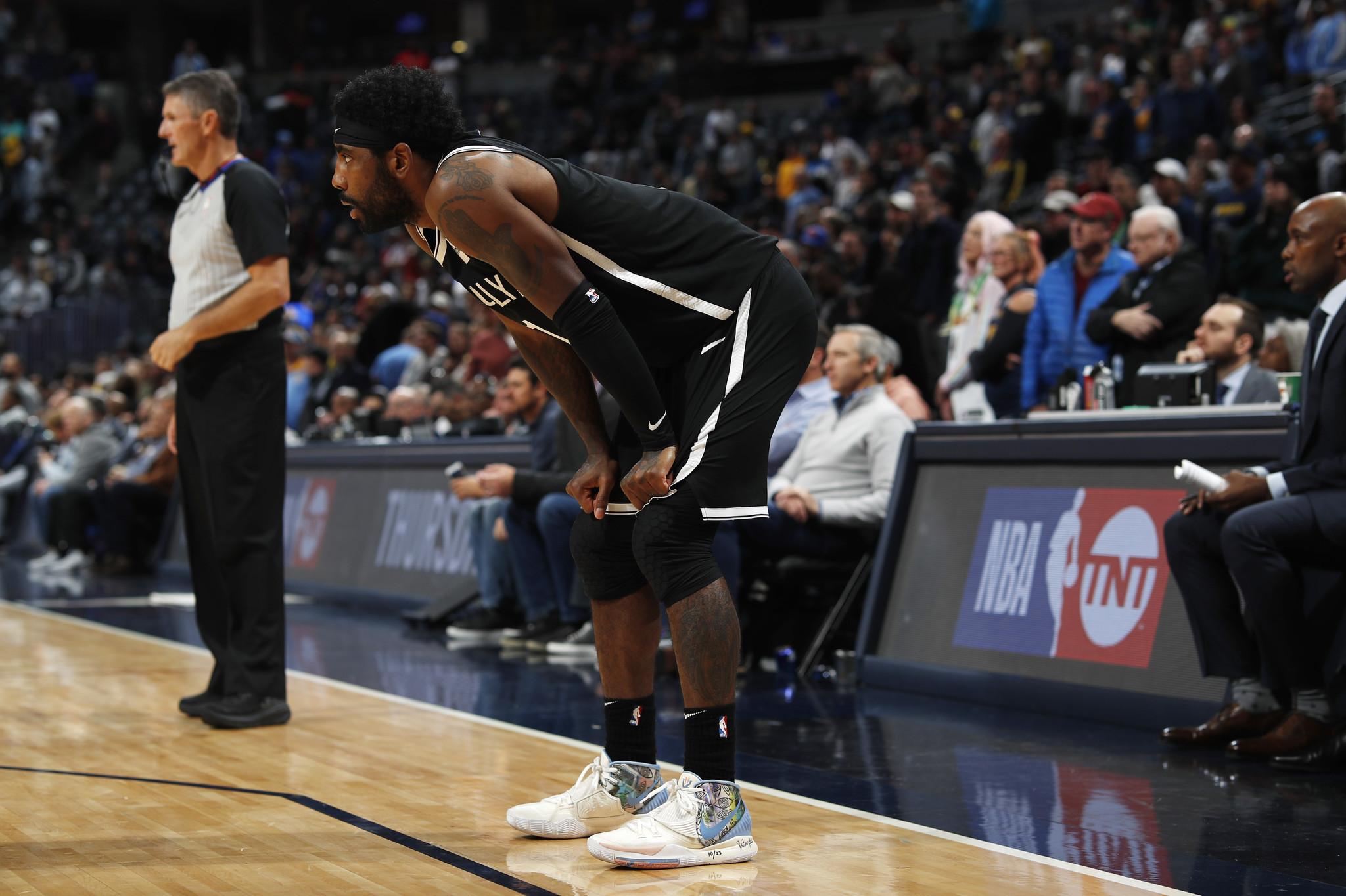 Nets Kyrie Irving to miss next 3 away games with shoulder injury